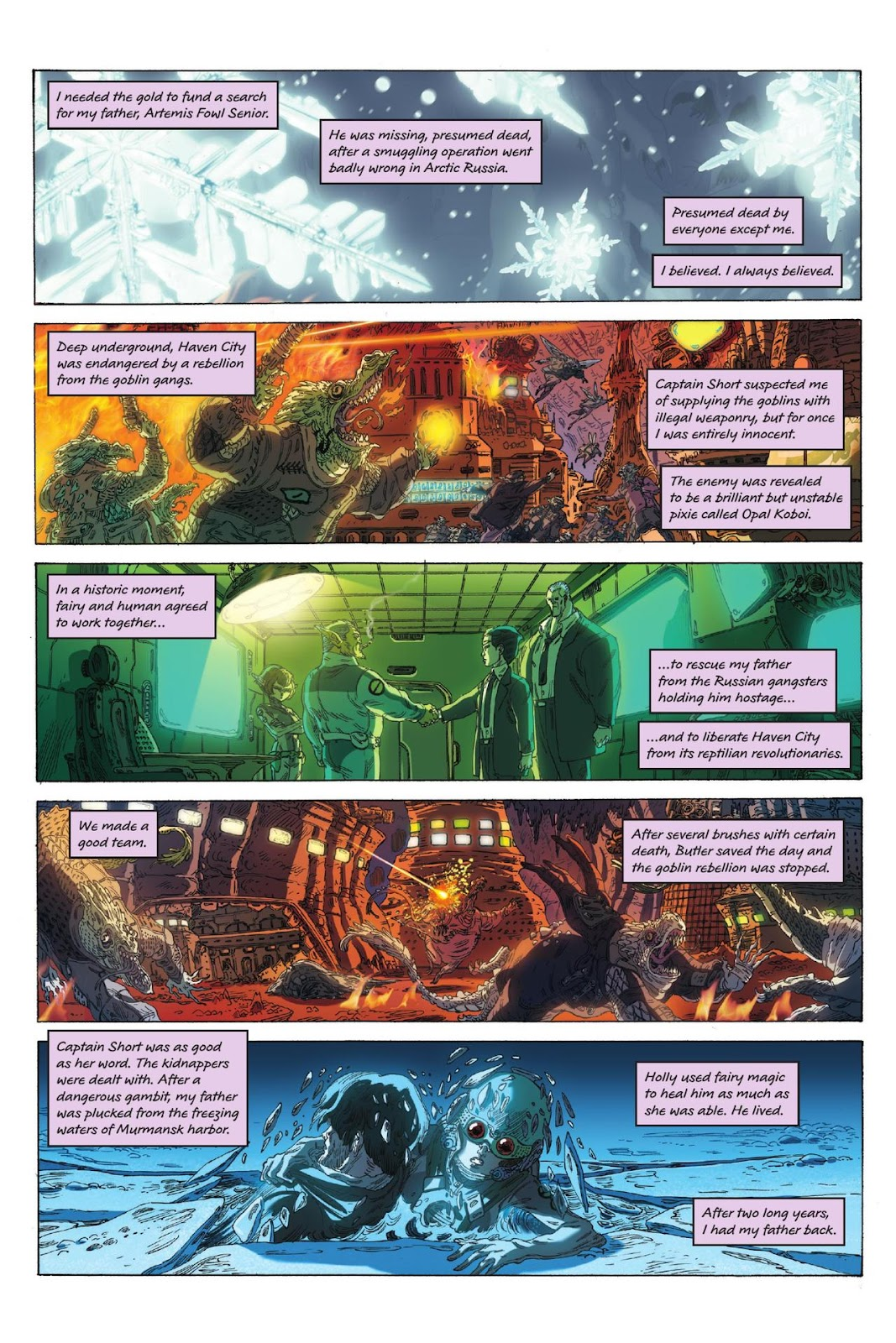 Artemis Fowl: The Eternity Code issue TPB - Page 6