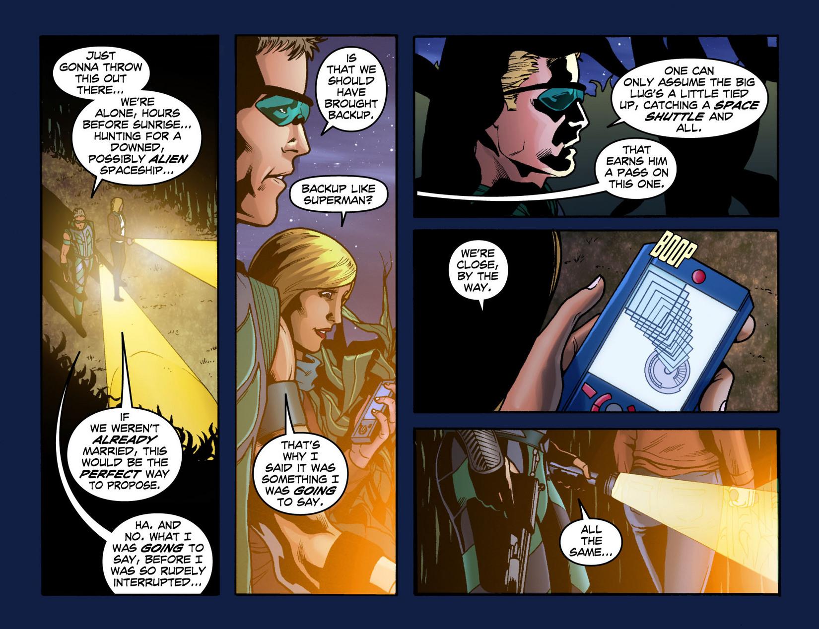 Read online Smallville: Season 11 comic -  Issue #7 - 5
