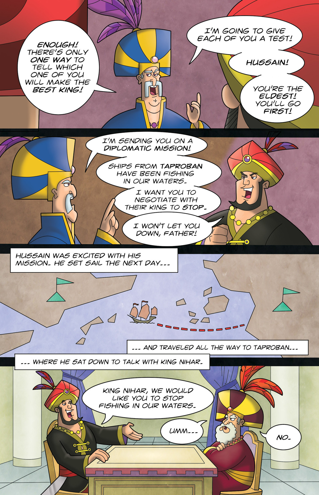 Read online 1001 Nights comic -  Issue #7 - 9