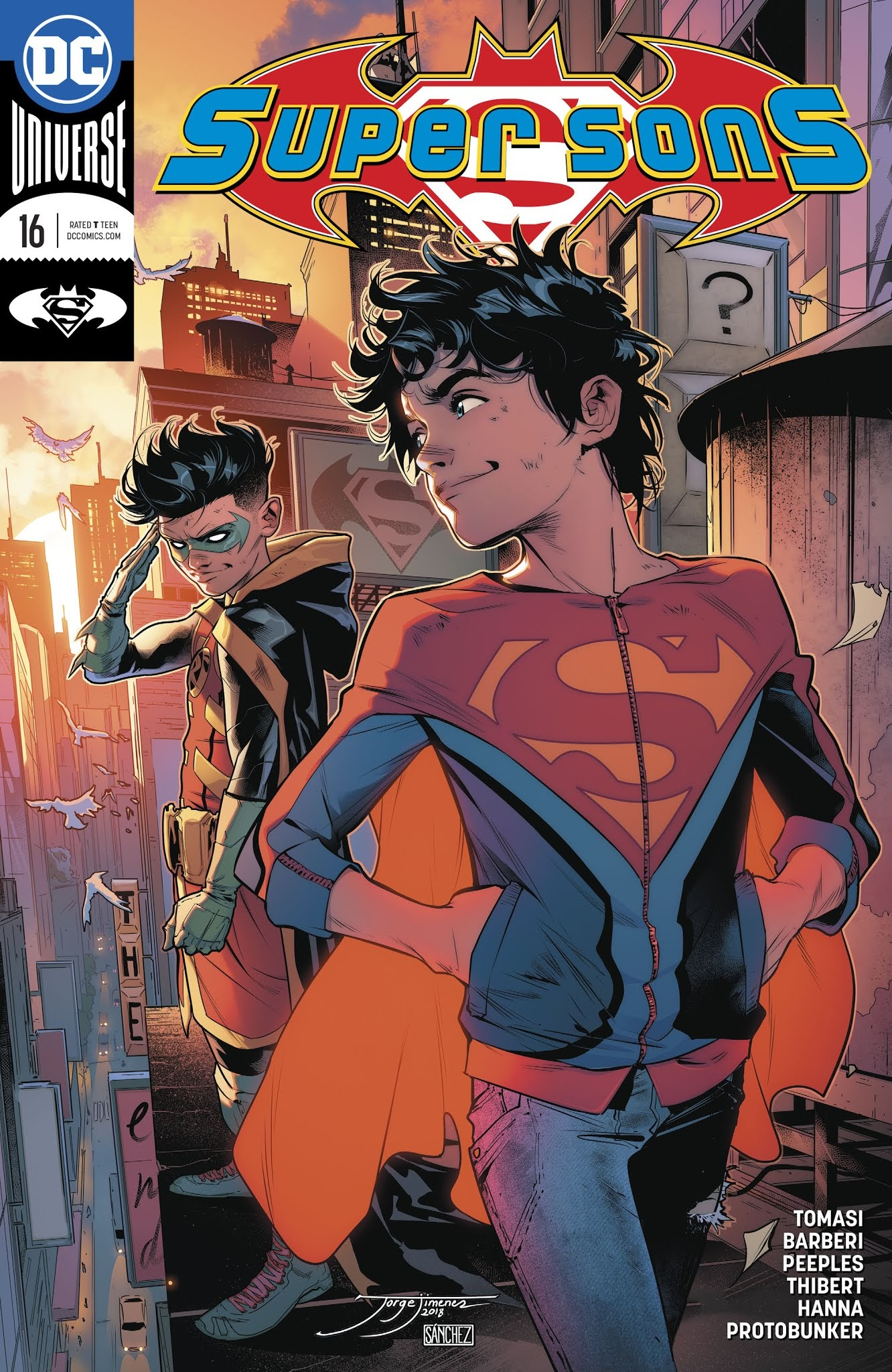 Super Sons 16 Page 1