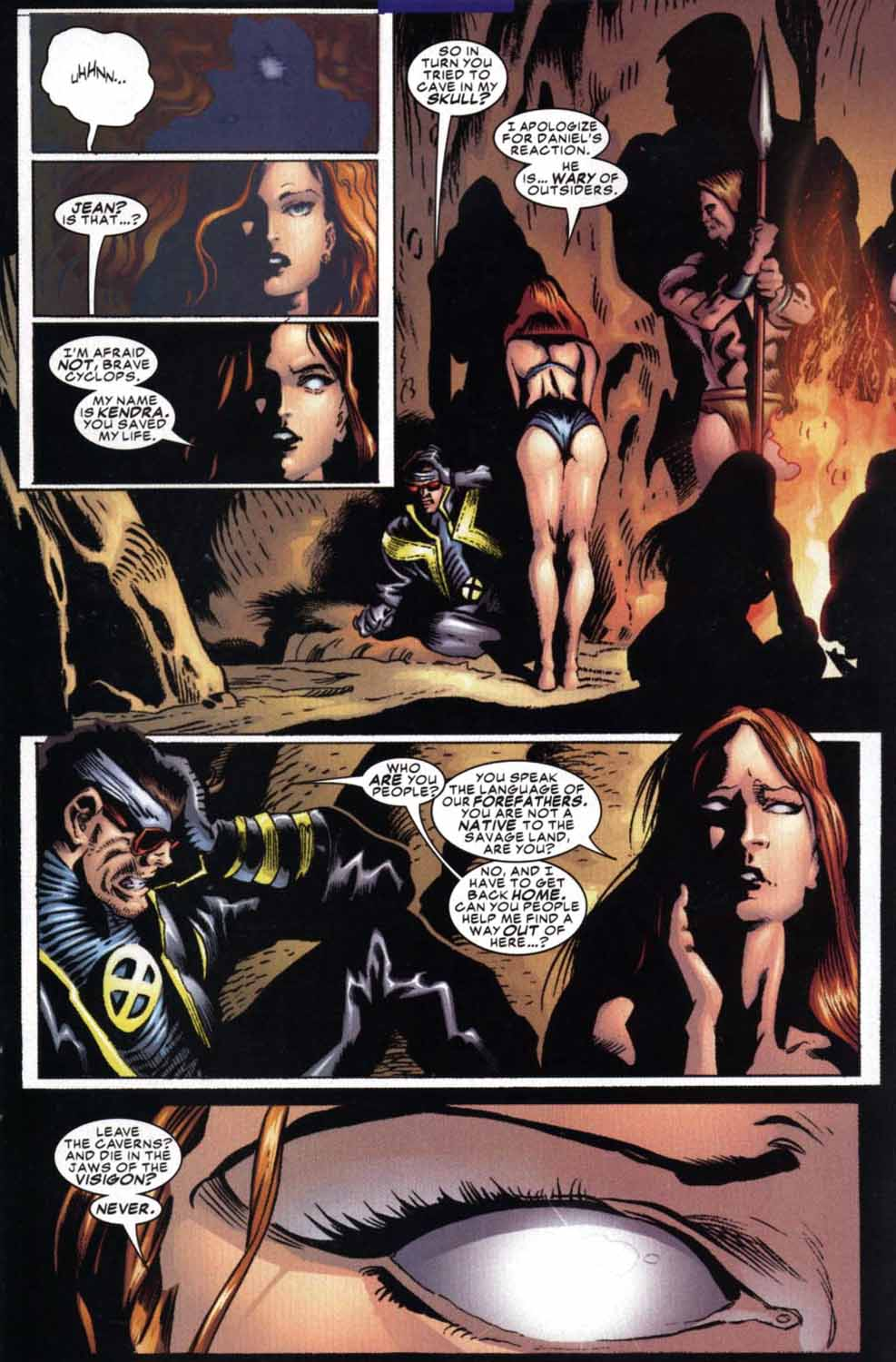 Read online Cyclops (2001) comic -  Issue #3 - 9