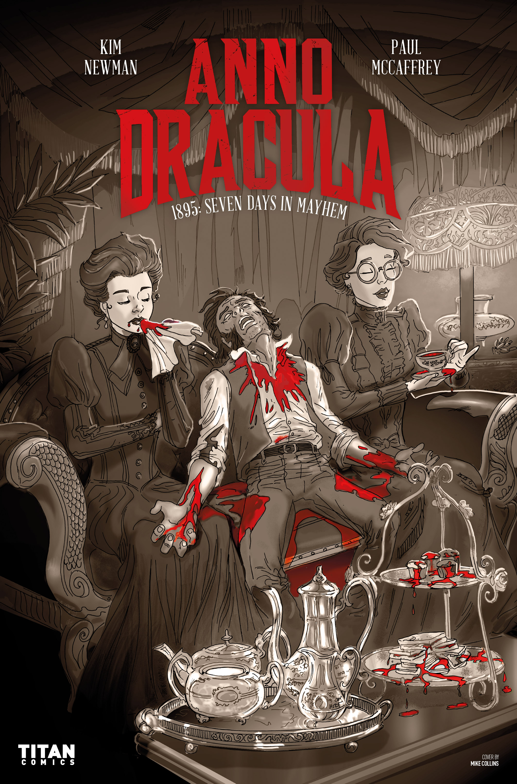 Read online Anno Dracula comic -  Issue #3 - 3