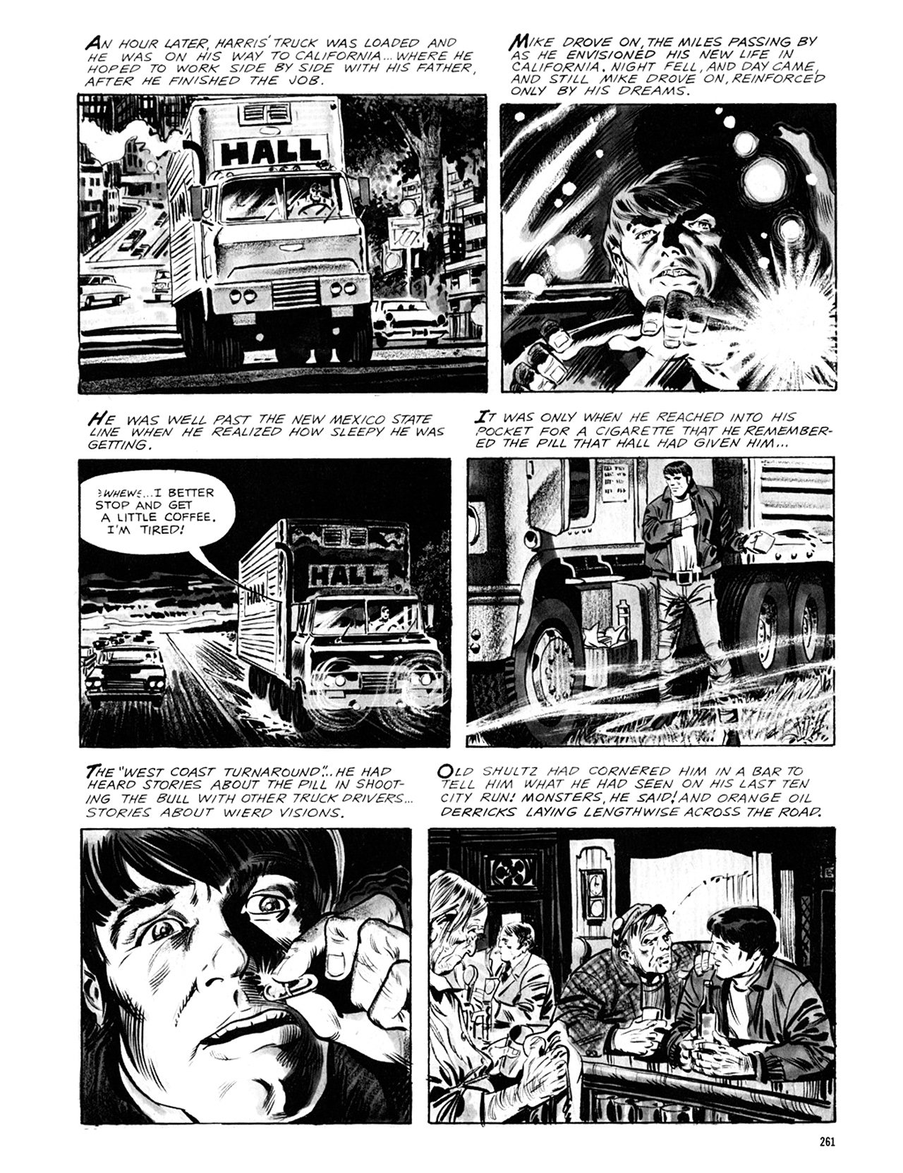 Read online Eerie Archives comic -  Issue # TPB 8 - 262