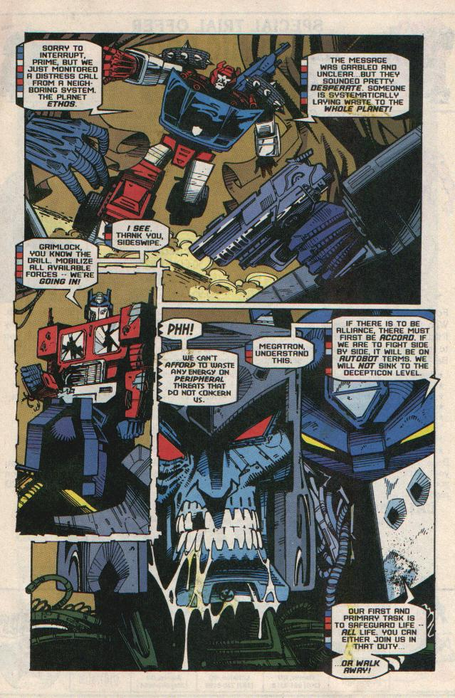 Read online Transformers: Generation 2 comic -  Issue #8 - 8
