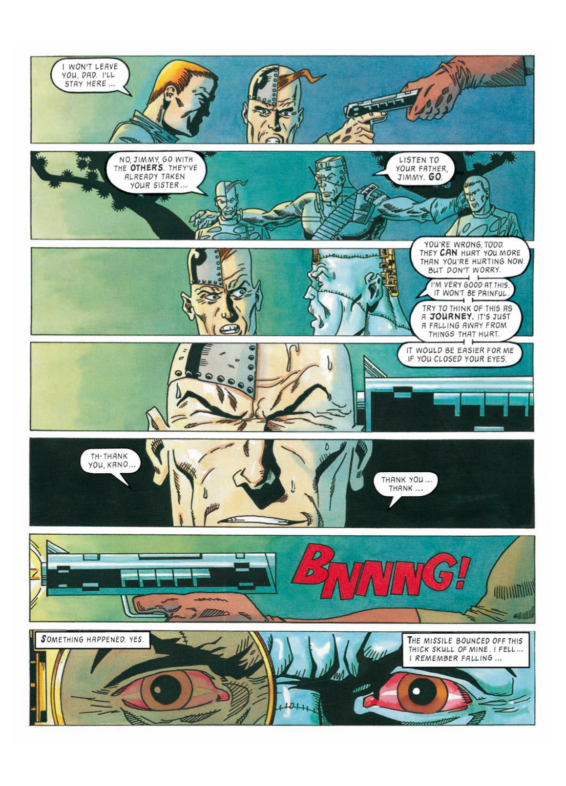 Read online The Complete Bad Company comic -  Issue # TPB - 303
