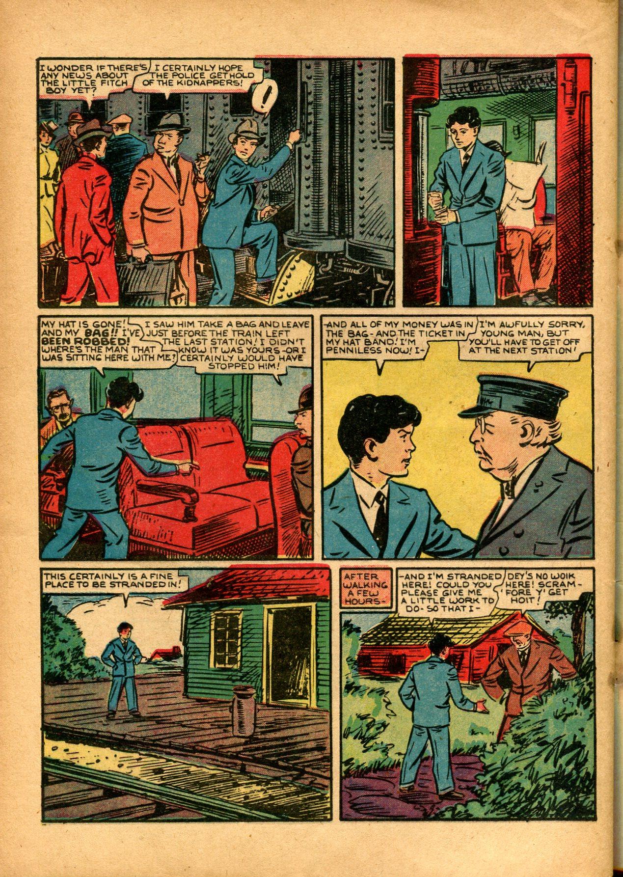 Read online Shadow Comics comic -  Issue #8 - 54