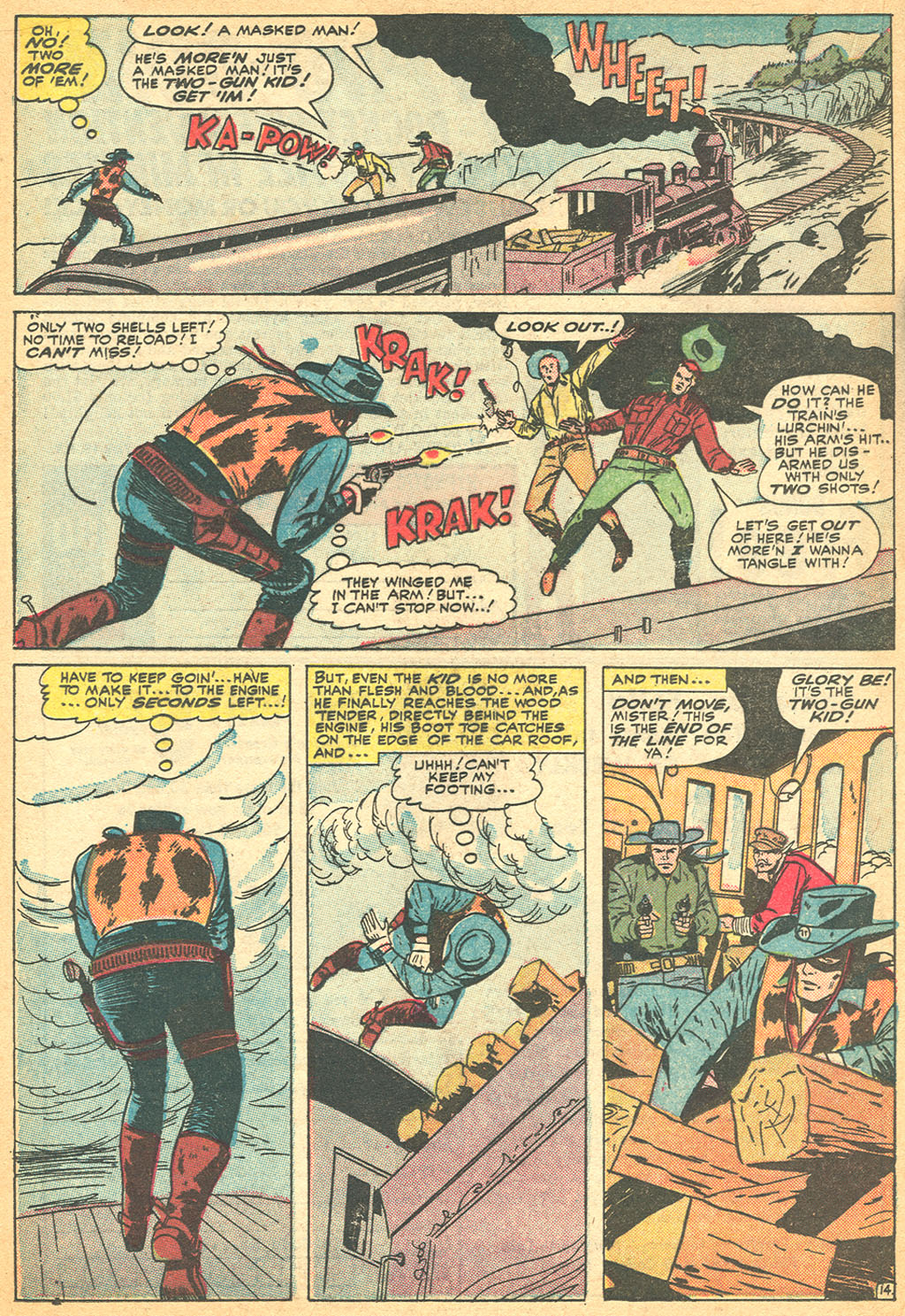 Read online Two-Gun Kid comic -  Issue #76 - 20