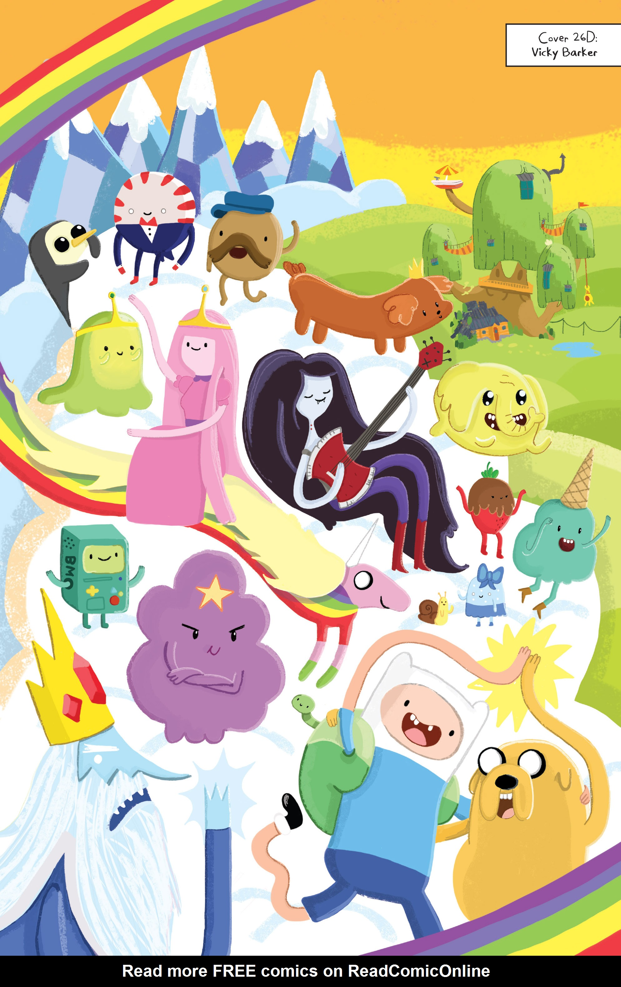 Read online Adventure Time comic -  Issue #Adventure Time _TPB 6 - 113