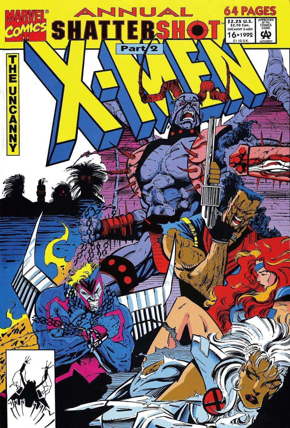 X-Men Annual 16 Page 1