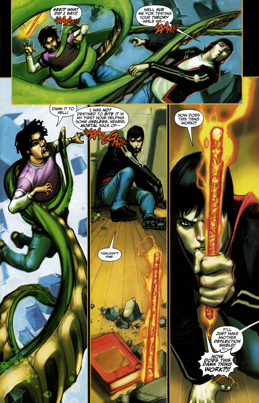Read online Trials of Shazam comic -  Issue #3 - 4