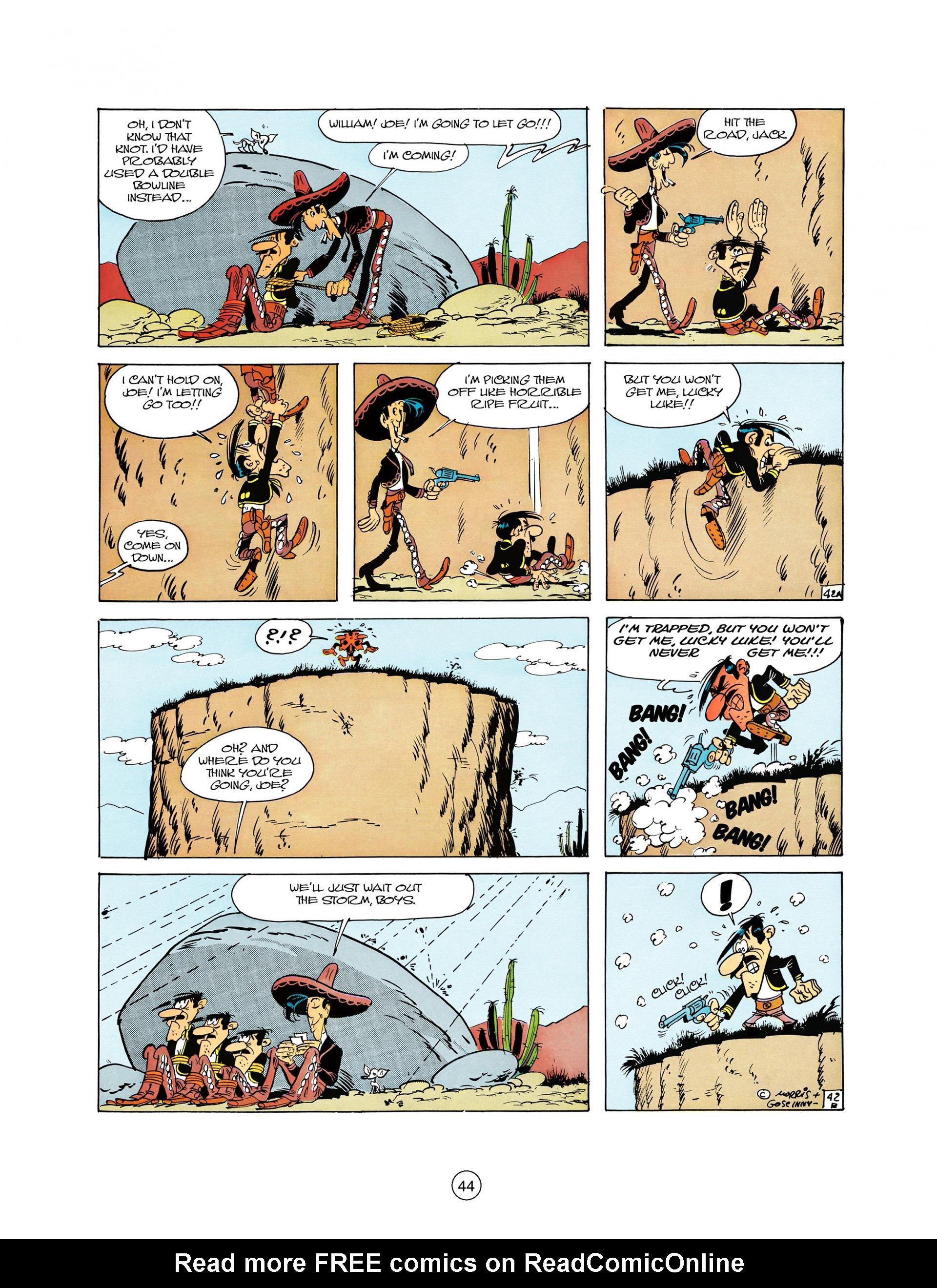 Read online A Lucky Luke Adventure comic -  Issue #10 - 44