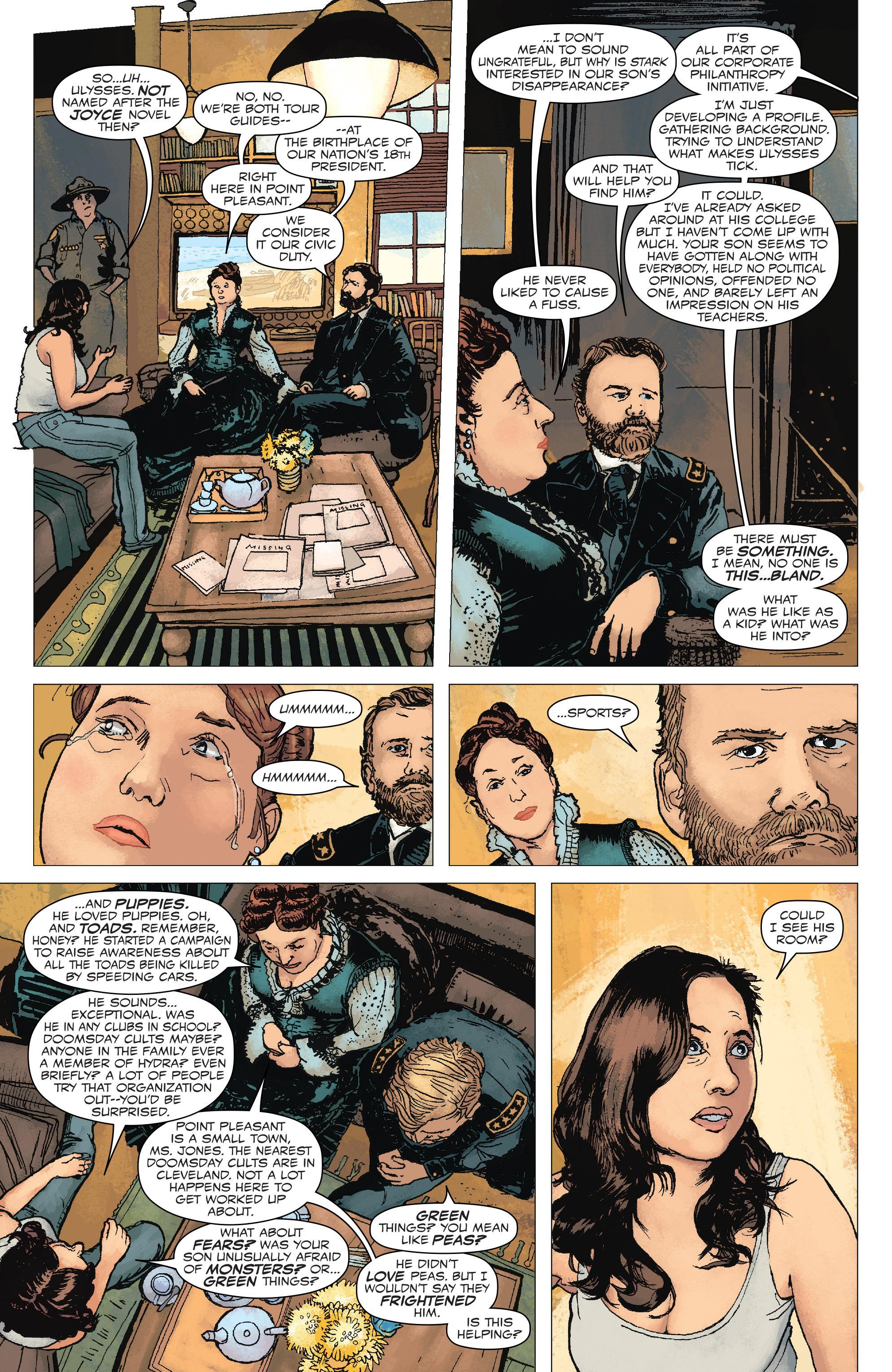 Read online Civil War II: Choosing Sides comic -  Issue #6 - 6