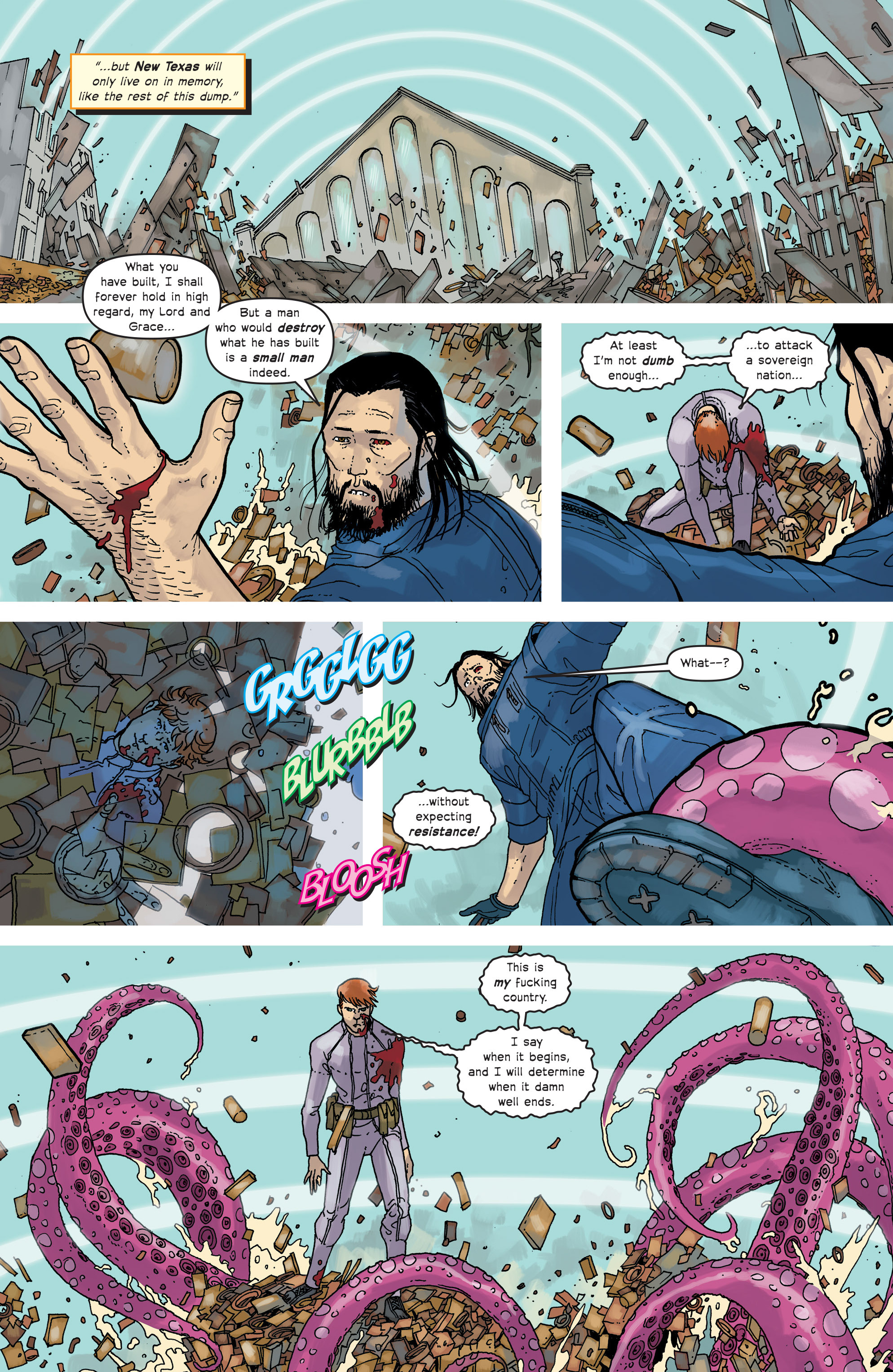 Read online Great Pacific comic -  Issue #18 - 22