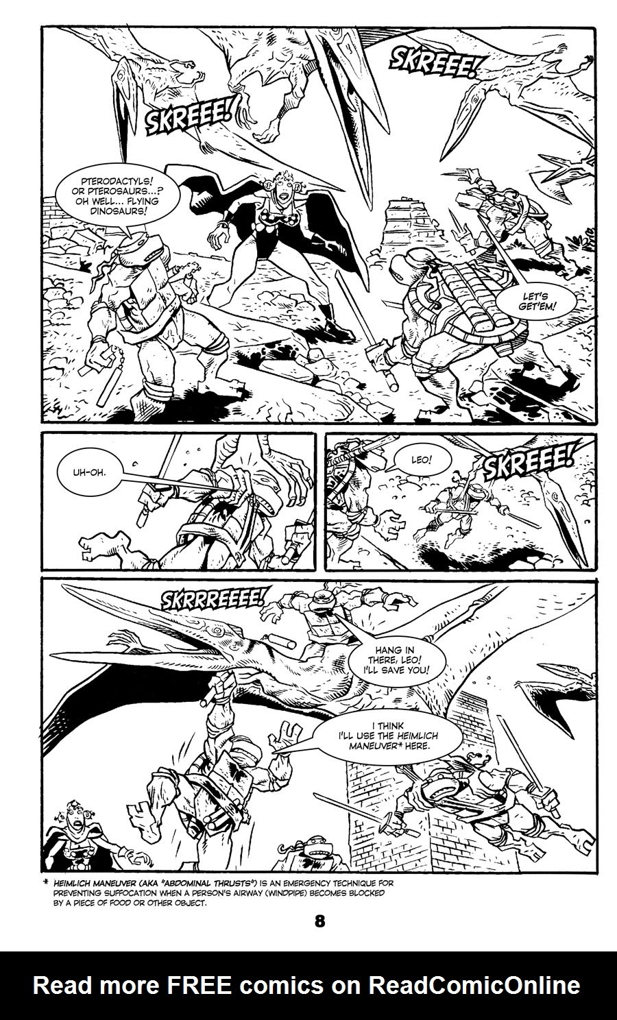 Read online Tales of the TMNT comic -  Issue #71 - 12