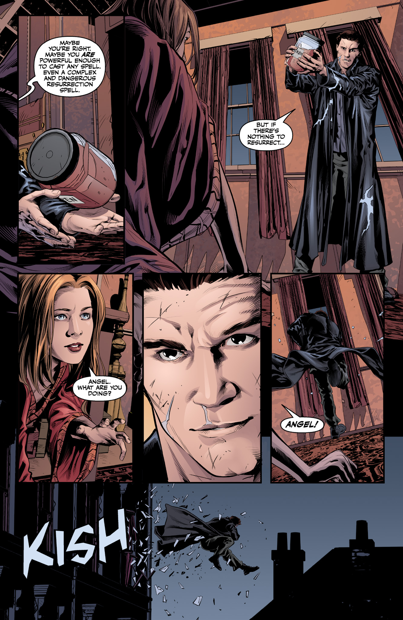 Read online Angel & Faith Season 10 comic -  Issue #9 - 7