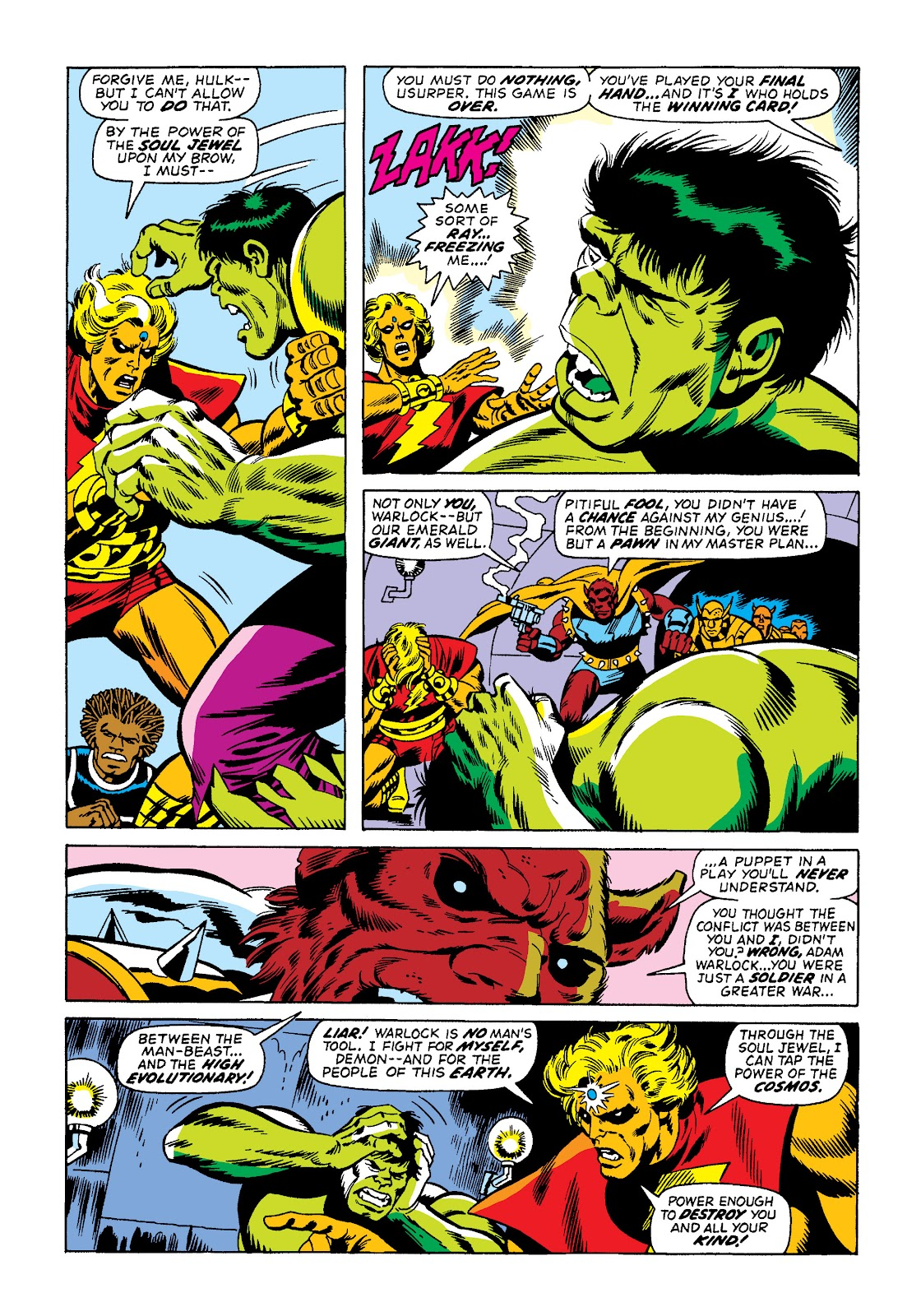 Read online Marvel Masterworks: The Incredible Hulk comic -  Issue # TPB 10 (Part 2) - 40