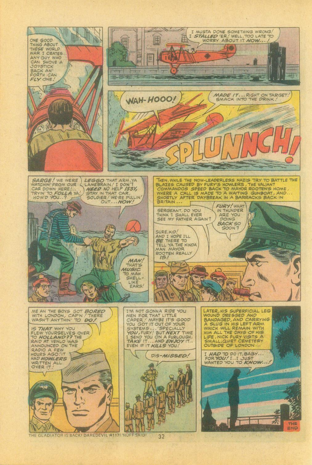 Read online Sgt. Fury comic -  Issue #121 - 34
