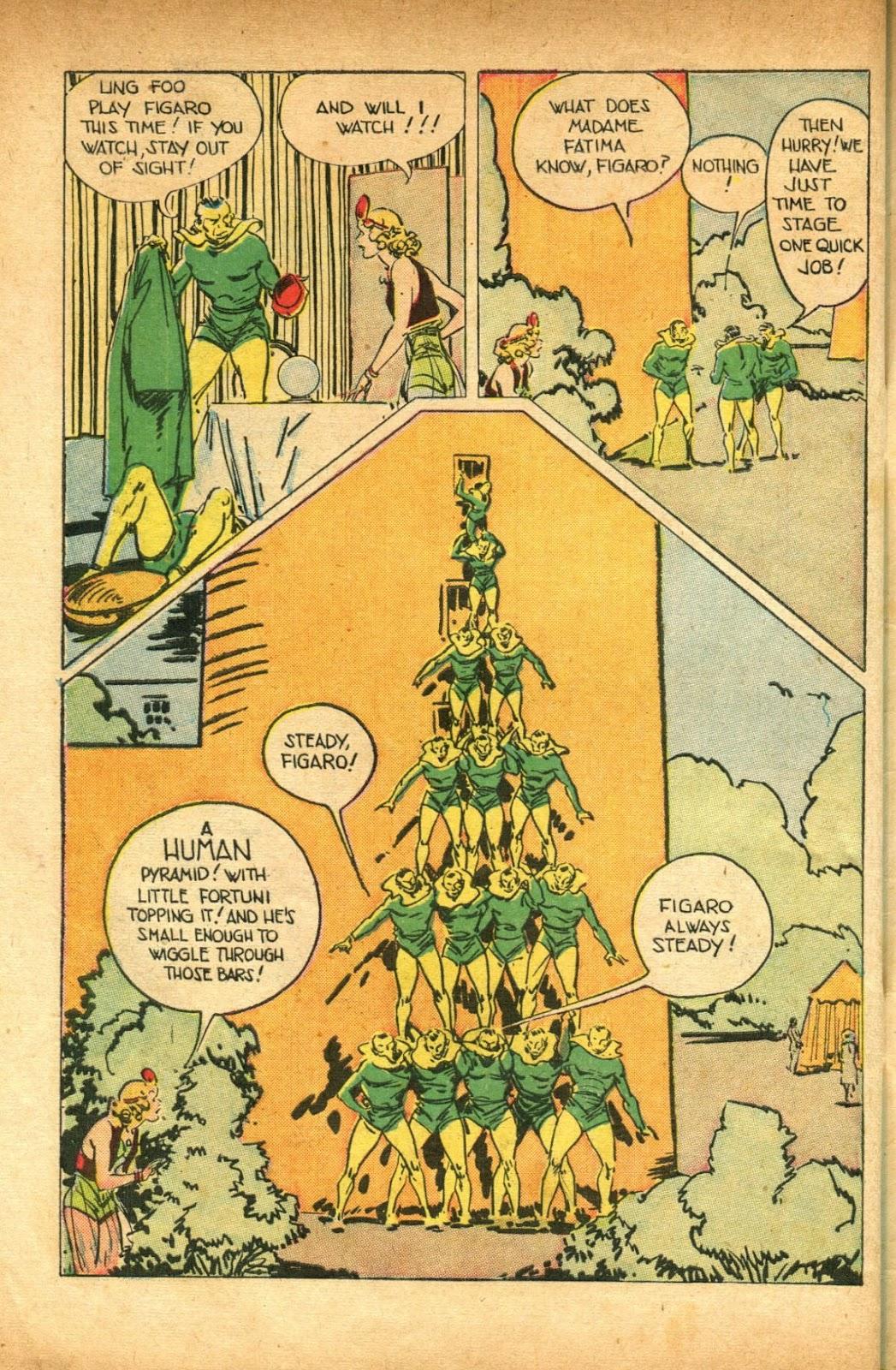 Read online Super-Magician Comics comic -  Issue #51 - 48