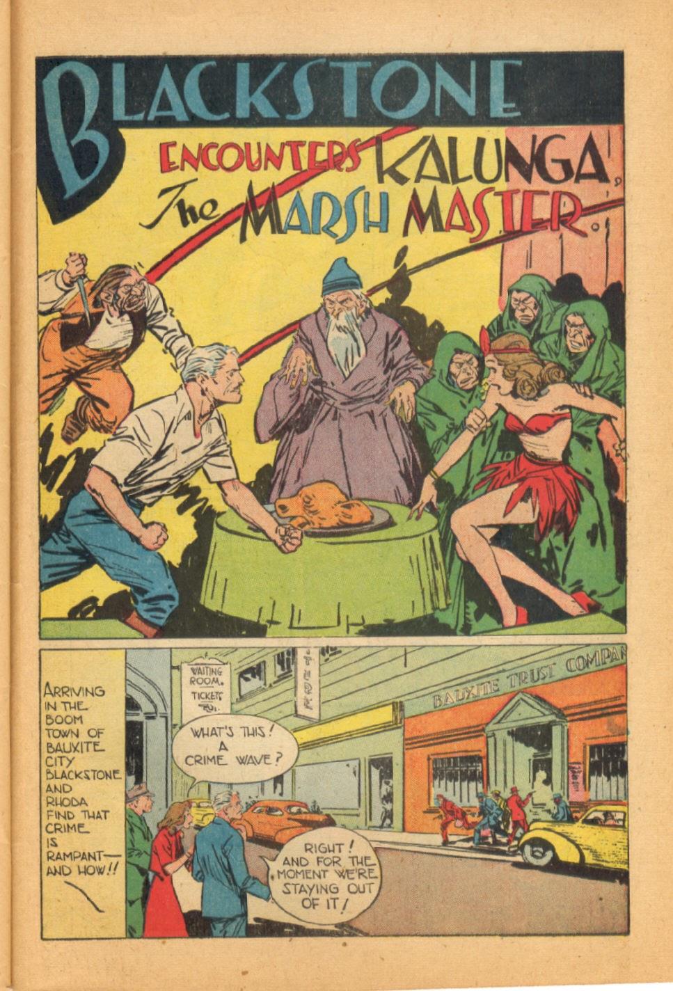 Read online Super-Magician Comics comic -  Issue #44 - 43
