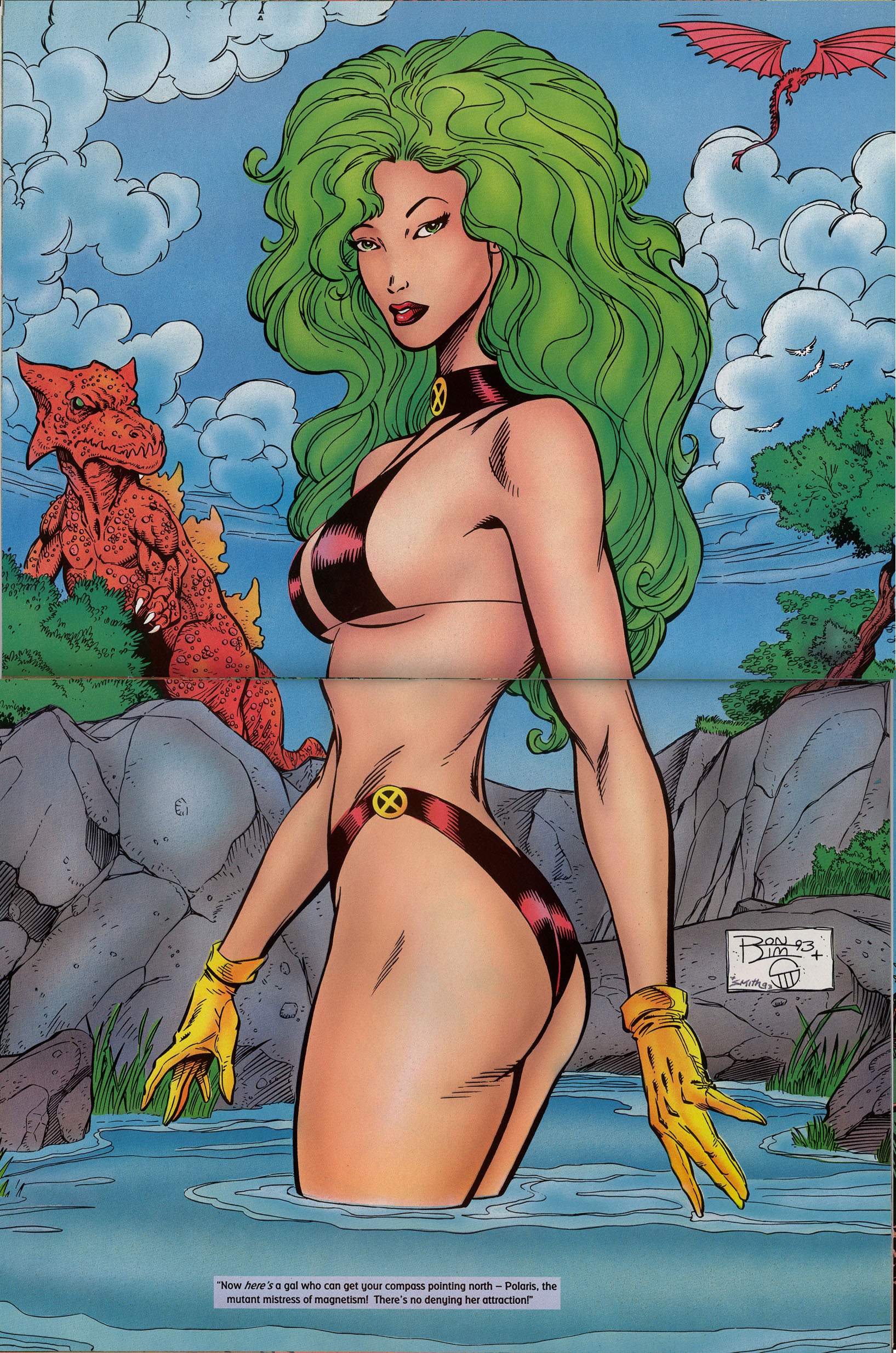 Read online Marvel Swimsuit Special comic -  Issue #2 - 22
