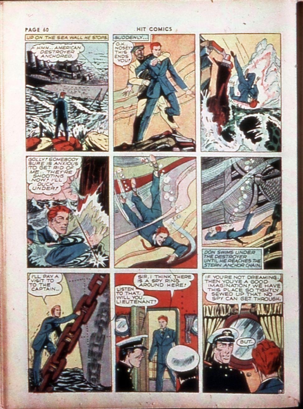 Read online Hit Comics comic -  Issue #14 - 62