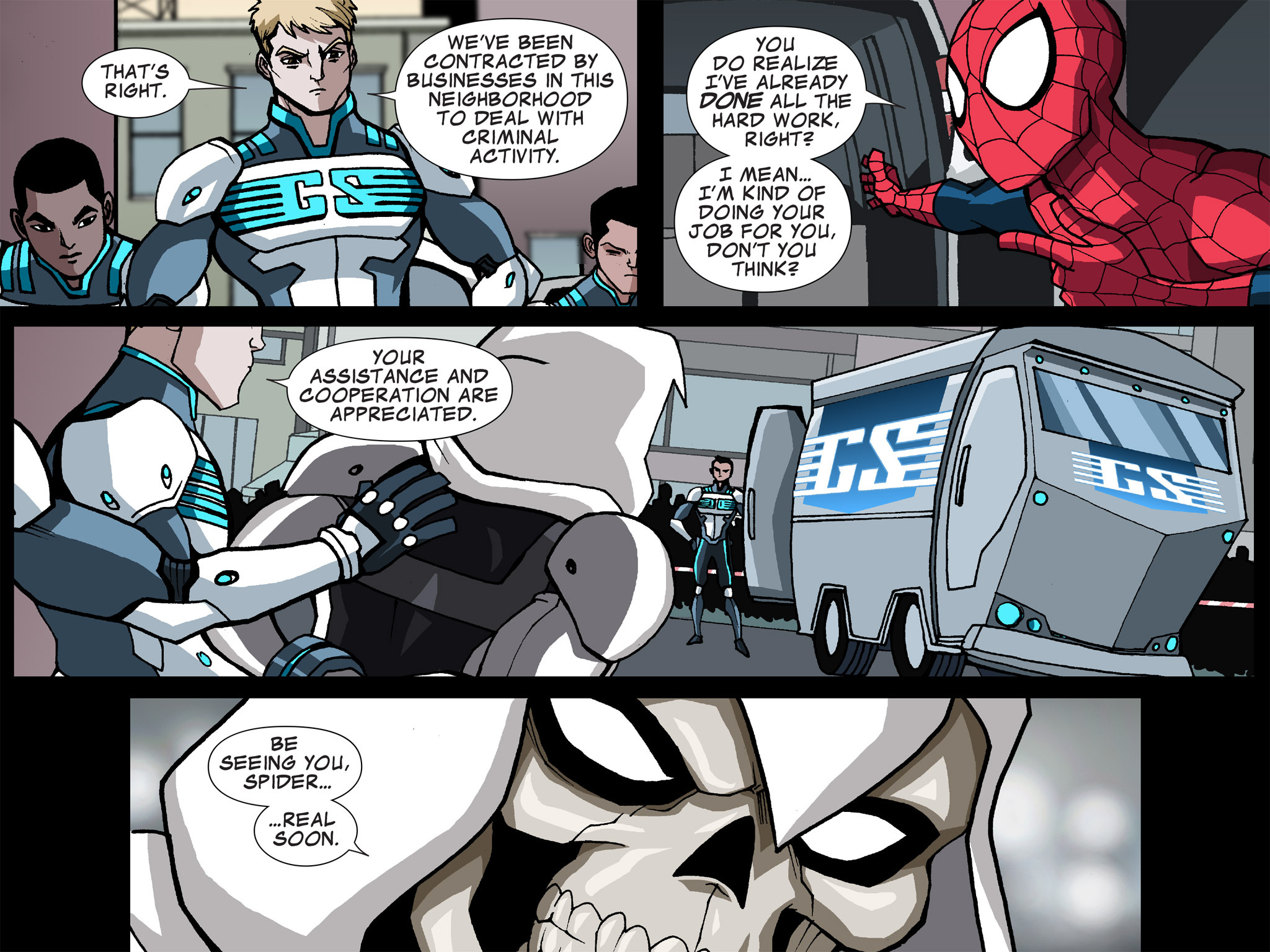 Read online Ultimate Spider-Man (Infinite Comics) (2015) comic -  Issue #15 - 34