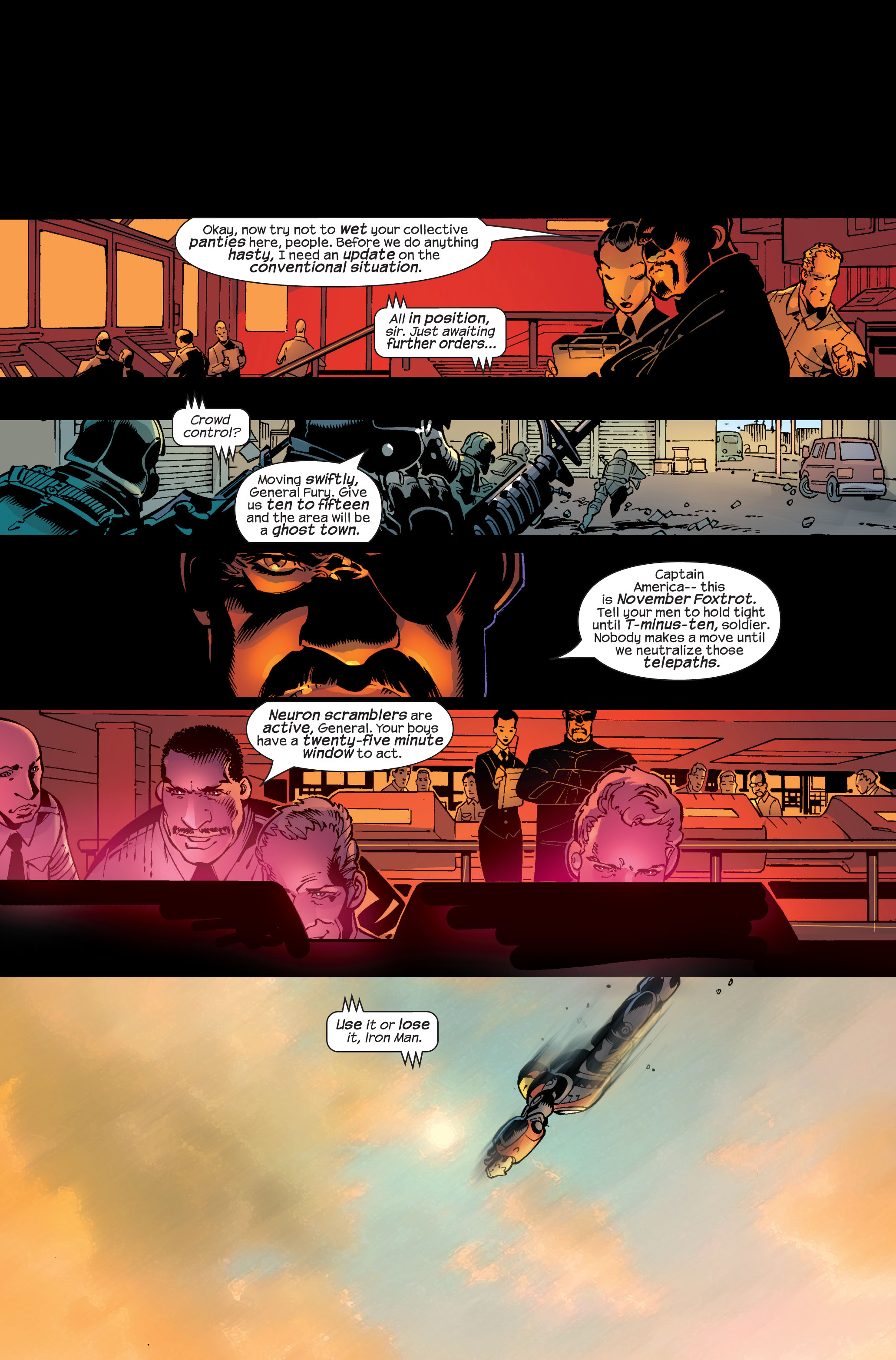 Read online Ultimate War comic -  Issue #3 - 21