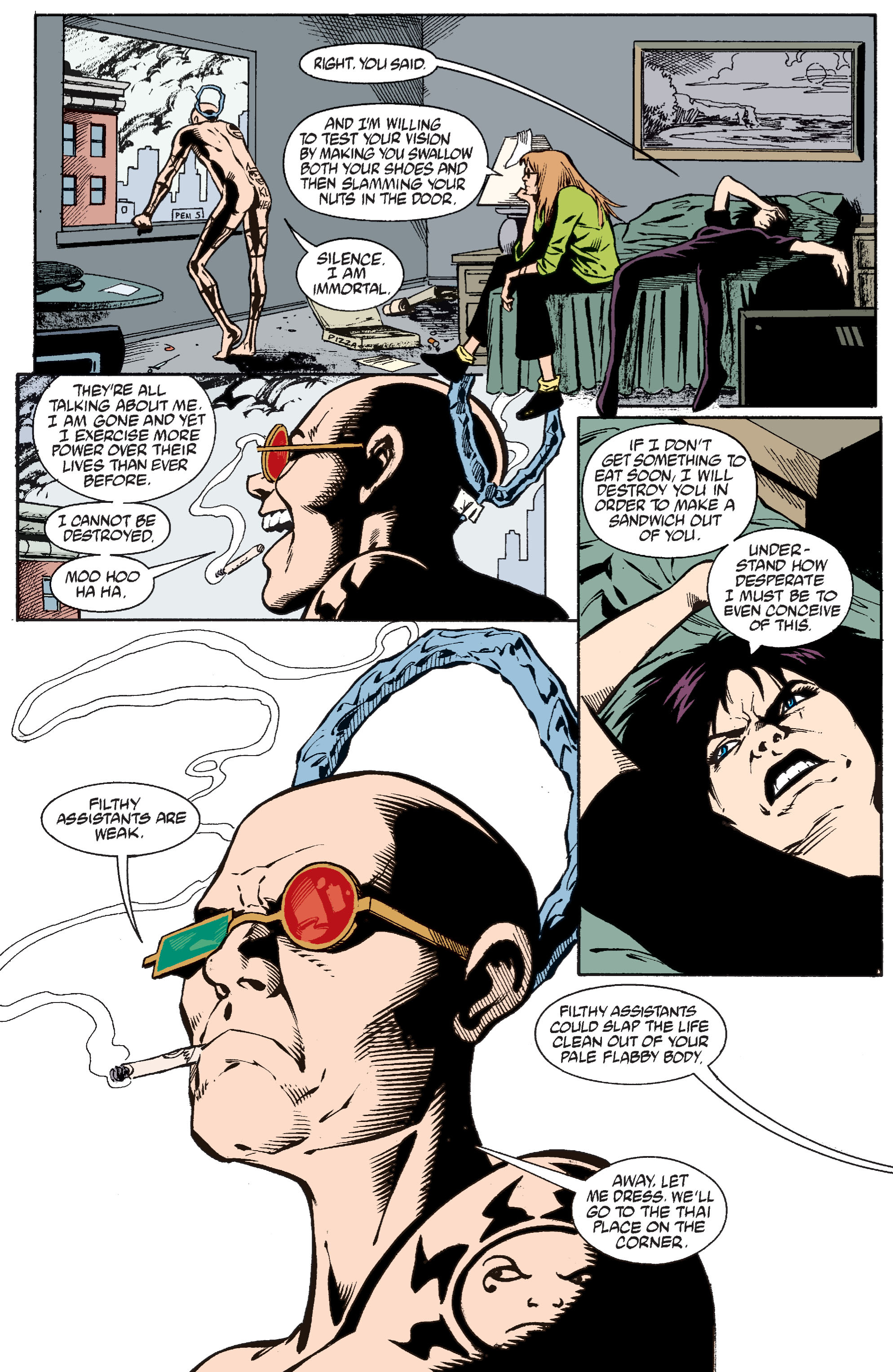 Read online Transmetropolitan comic -  Issue #37 - 9
