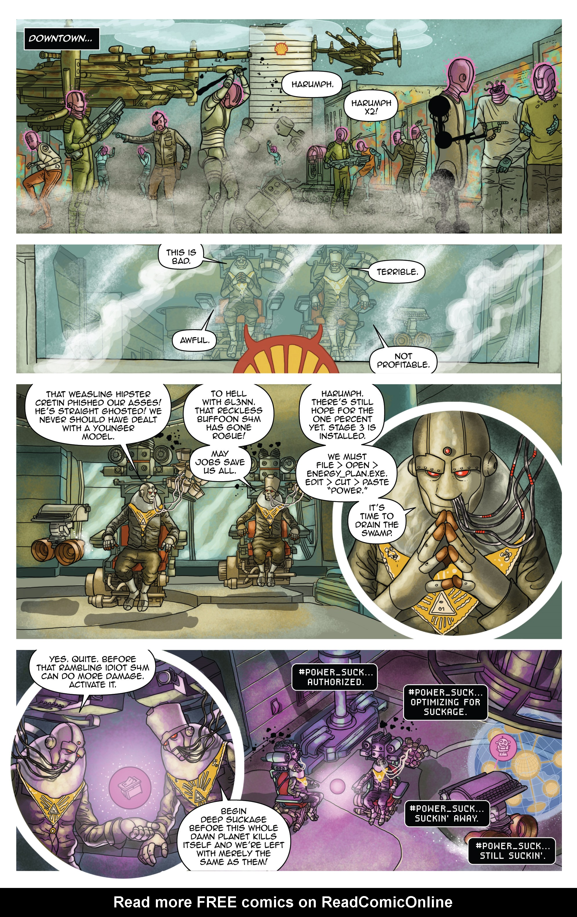 Read online D4VEocracy comic -  Issue #4 - 7