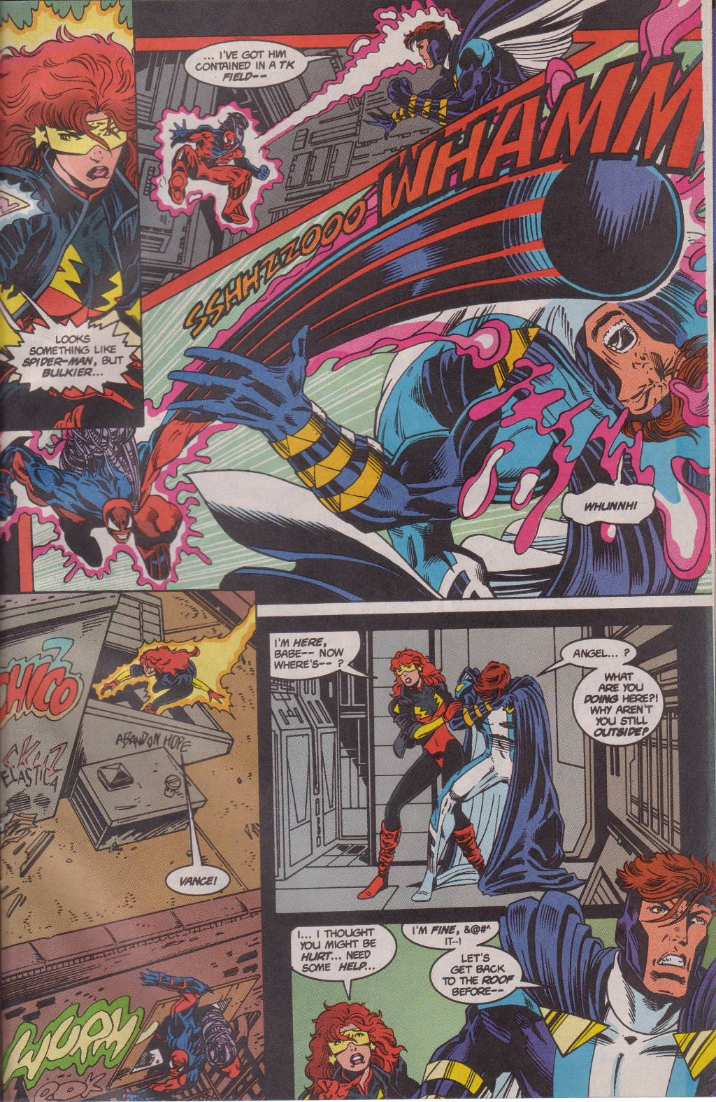 The New Warriors Issue #61 #65 - English 21
