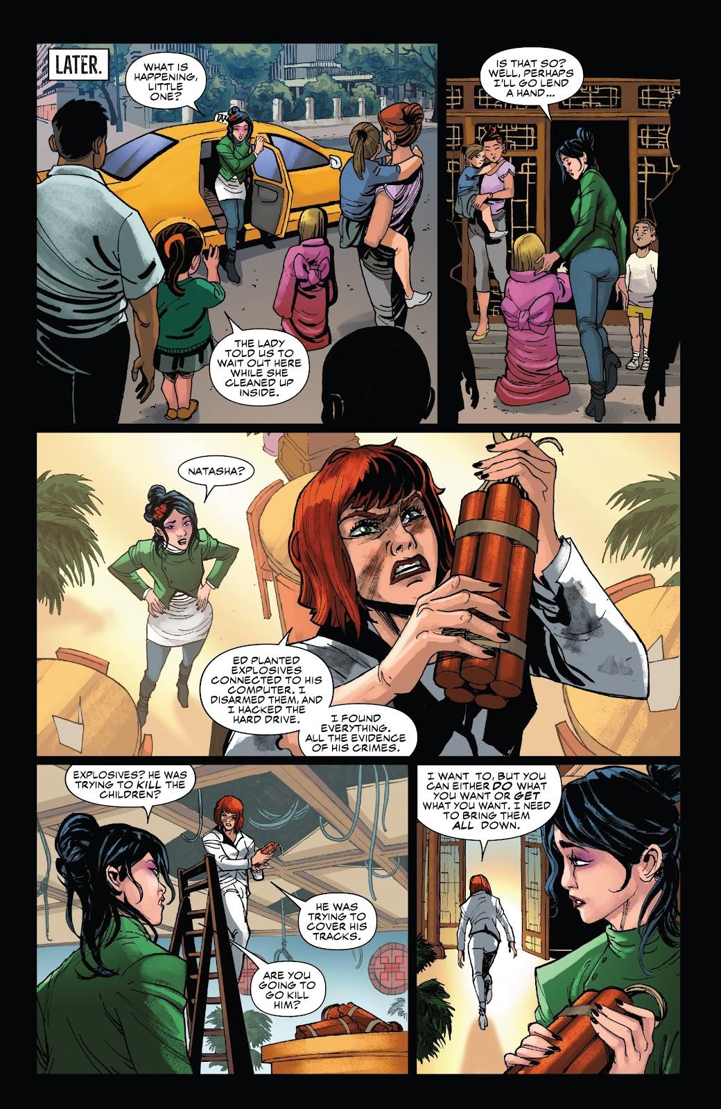 Read online Black Widow (2019) comic -  Issue #5 - 10