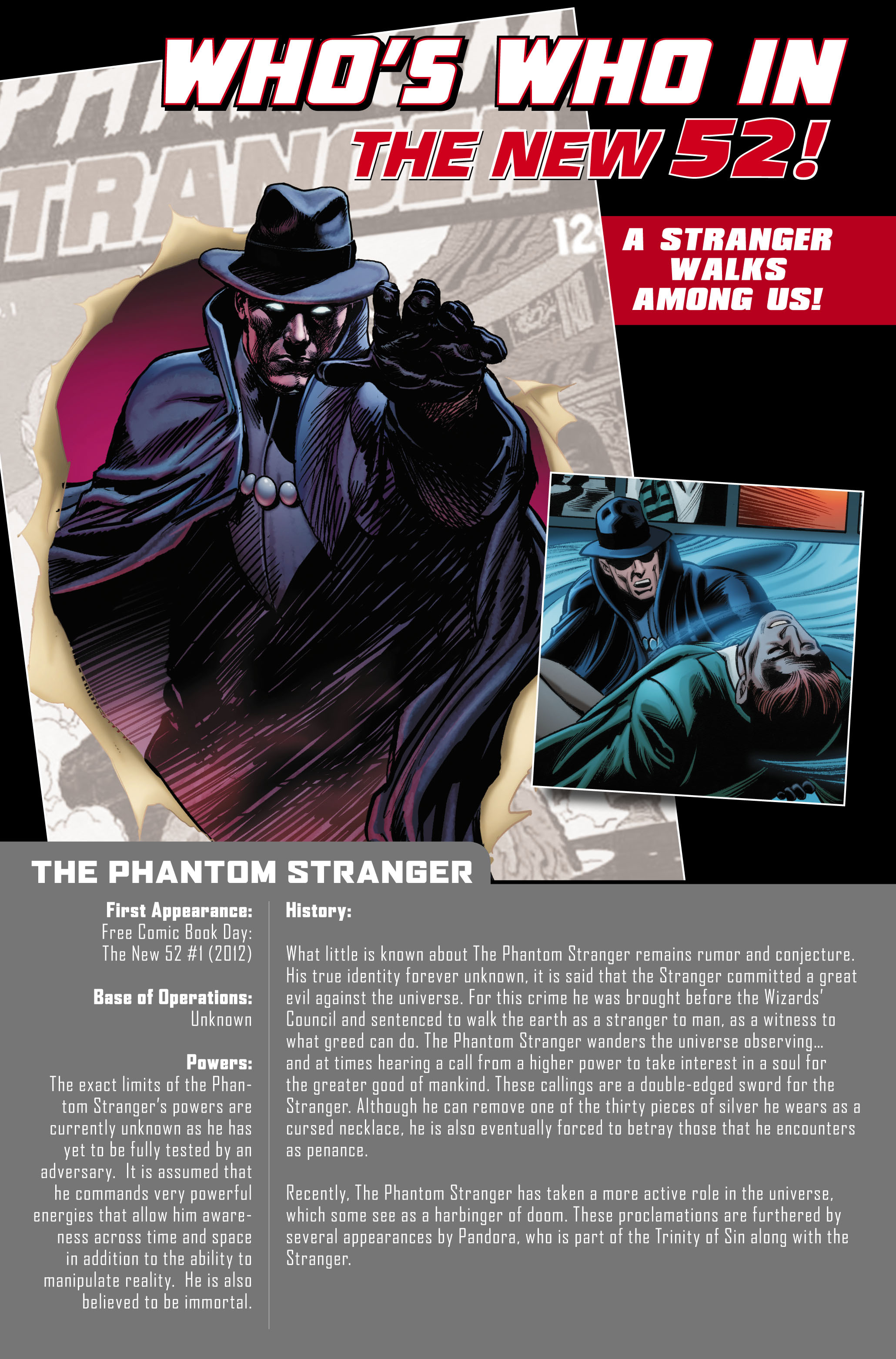 Read online Trinity of Sin: The Phantom Stranger comic -  Issue #0 - 21