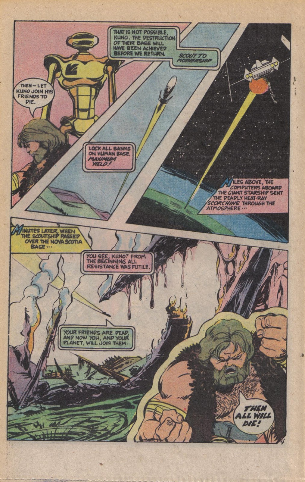 Read online Doomsday   1 (1975) comic -  Issue #9 - 27