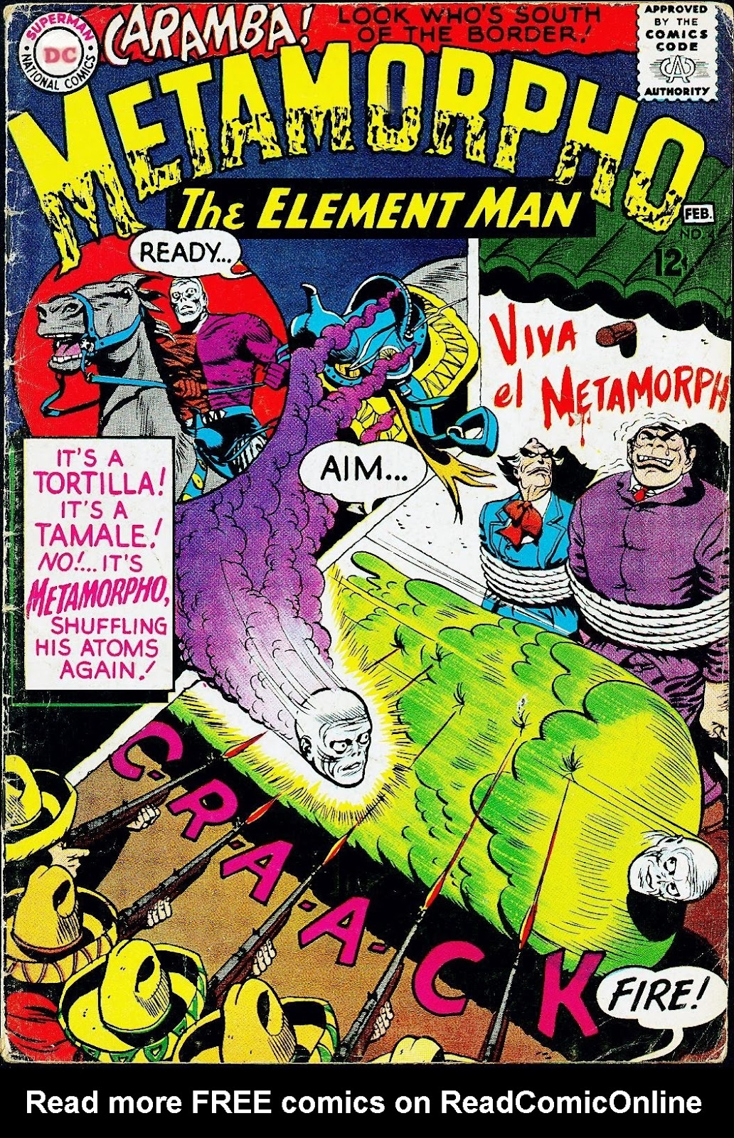 Metamorpho (1965) issue 4 - Page 1