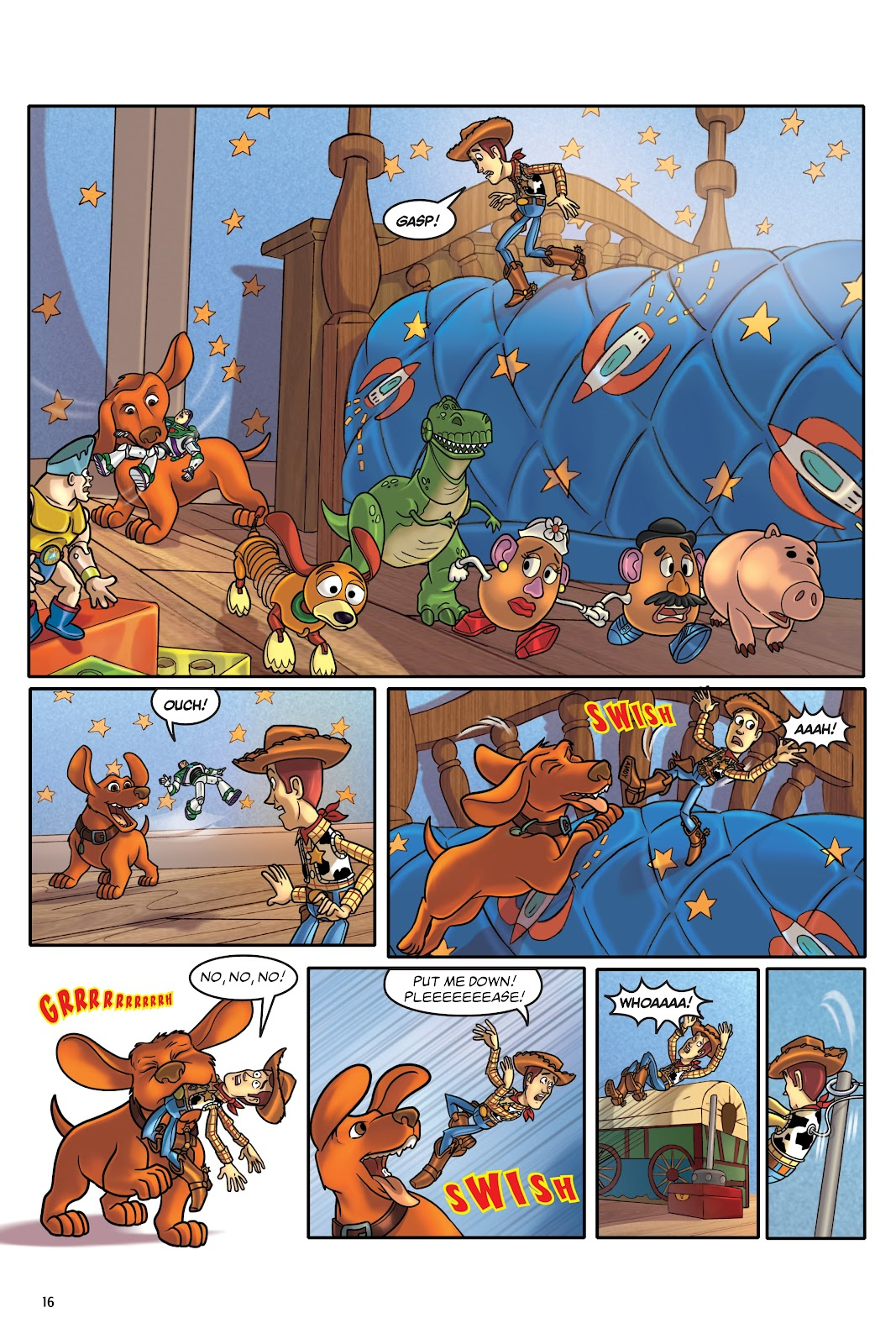 Read online DISNEY·PIXAR Toy Story Adventures comic -  Issue # TPB 1 (Part 1) - 16