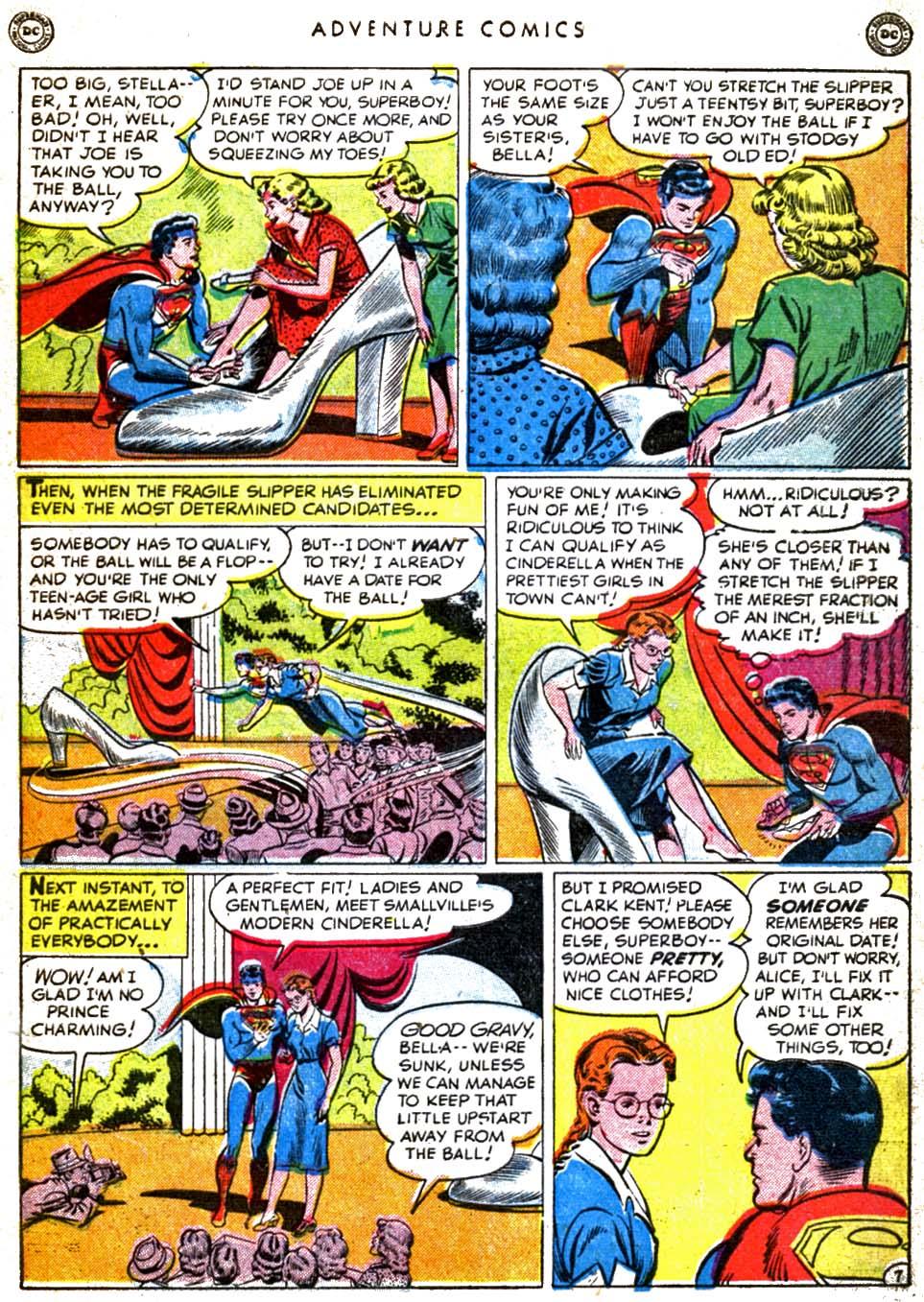 Read online Adventure Comics (1938) comic -  Issue #160 - 9