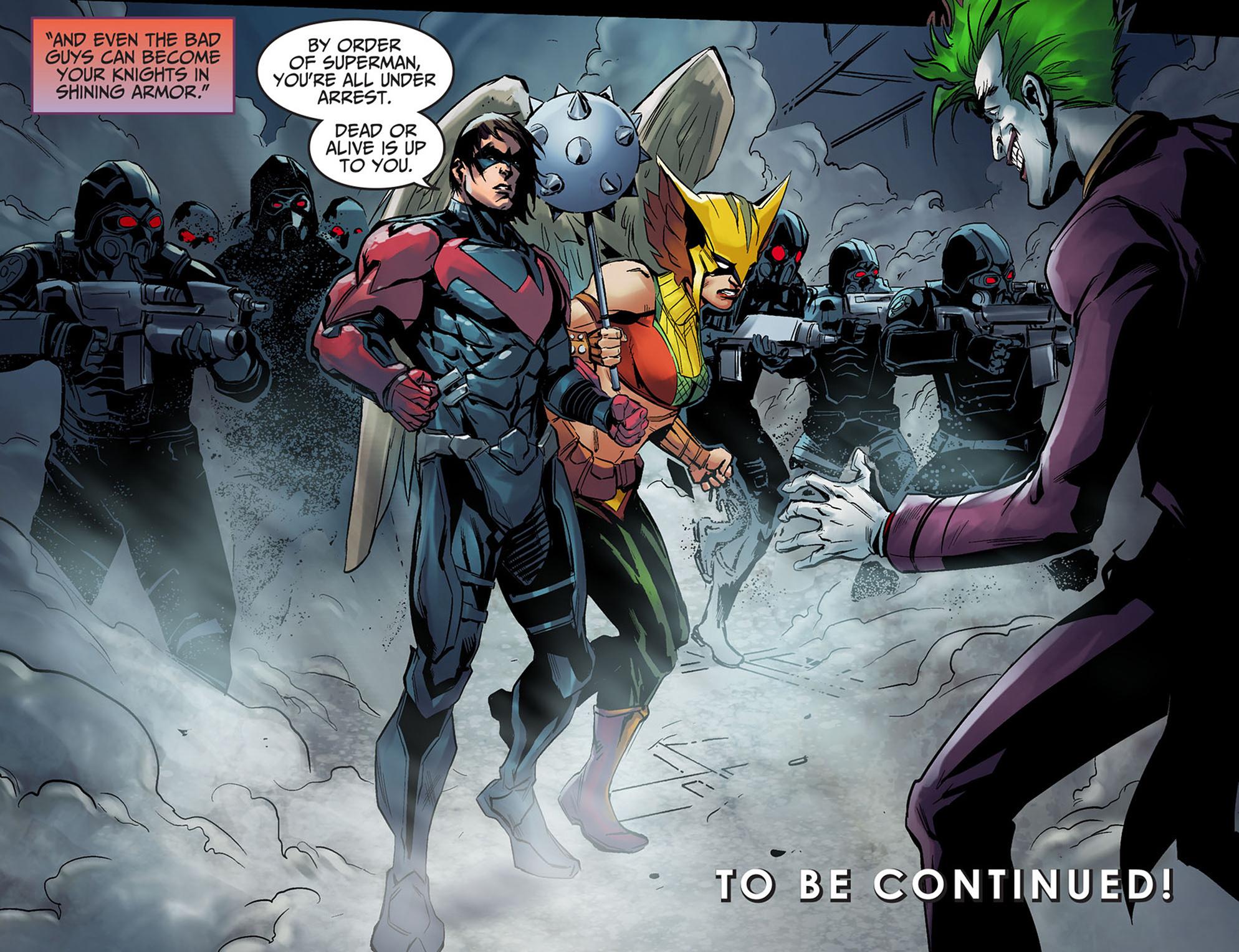Read online Injustice: Ground Zero comic -  Issue #5 - 23