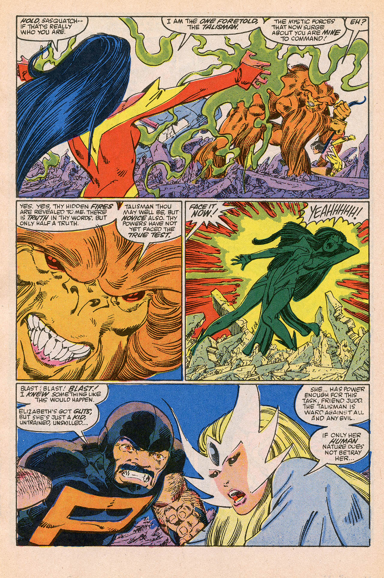 Read online Alpha Flight (1983) comic -  Issue #23 - 22