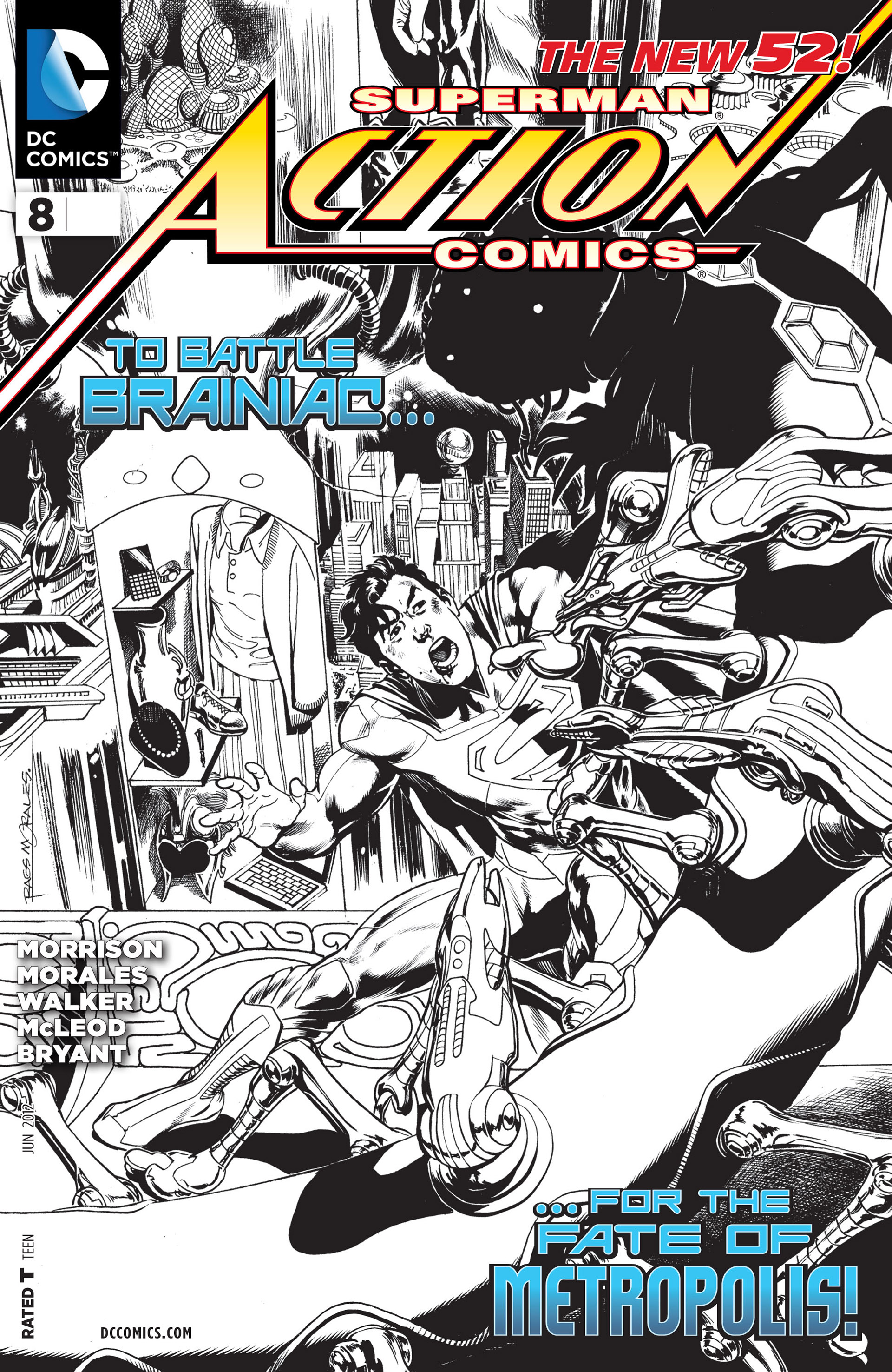 Read online Action Comics (2011) comic -  Issue #8 - 3