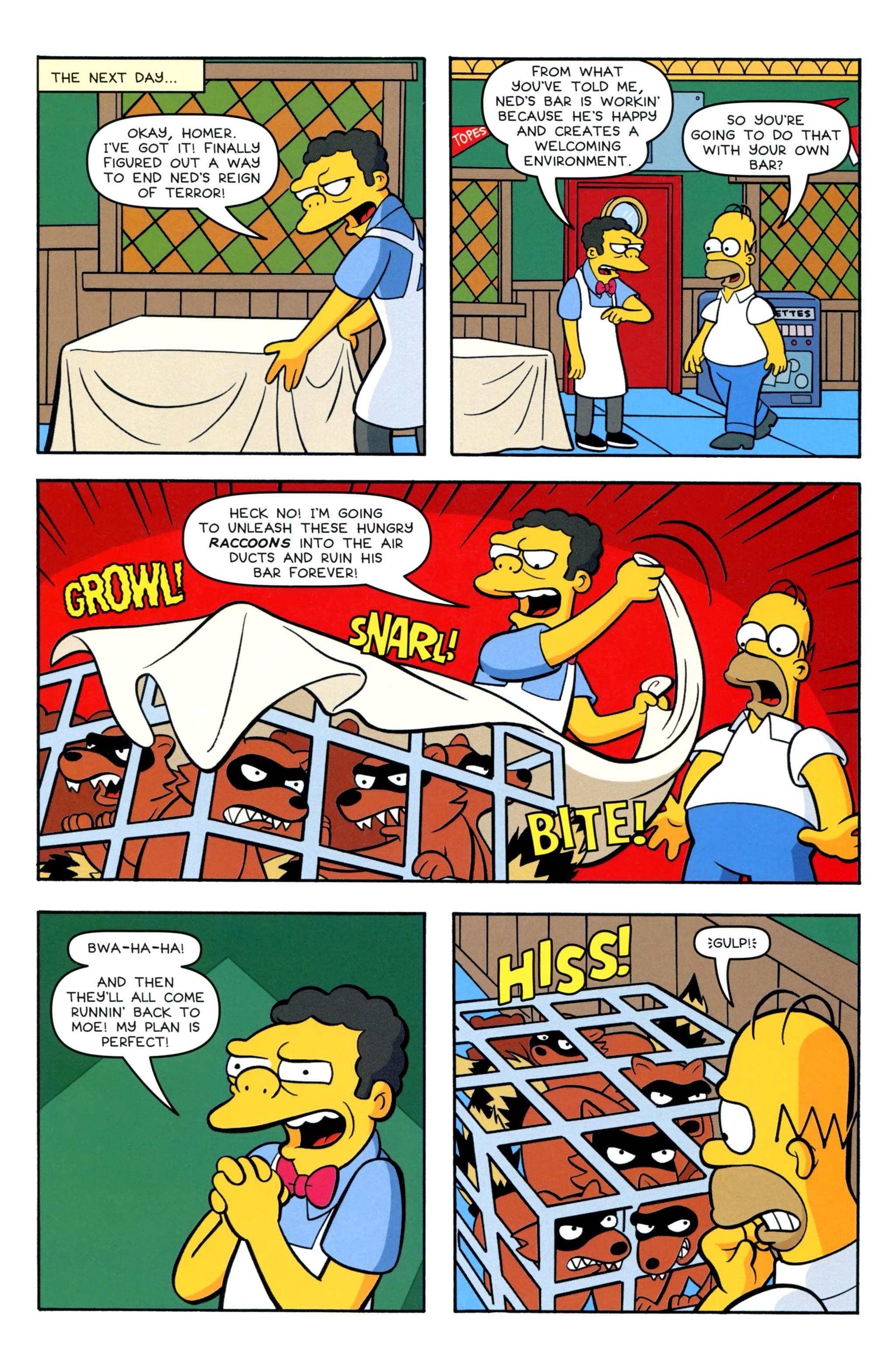 Read online Simpsons Comics comic -  Issue #220 - 21
