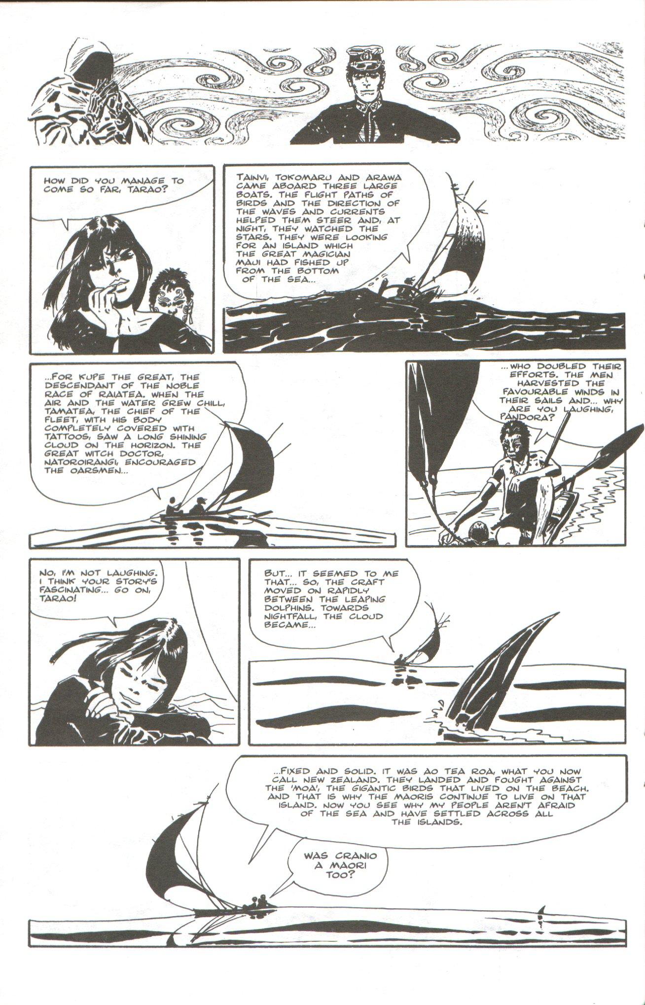Read online Corto Maltese: Ballad of the Salt Sea comic -  Issue #5 - 20