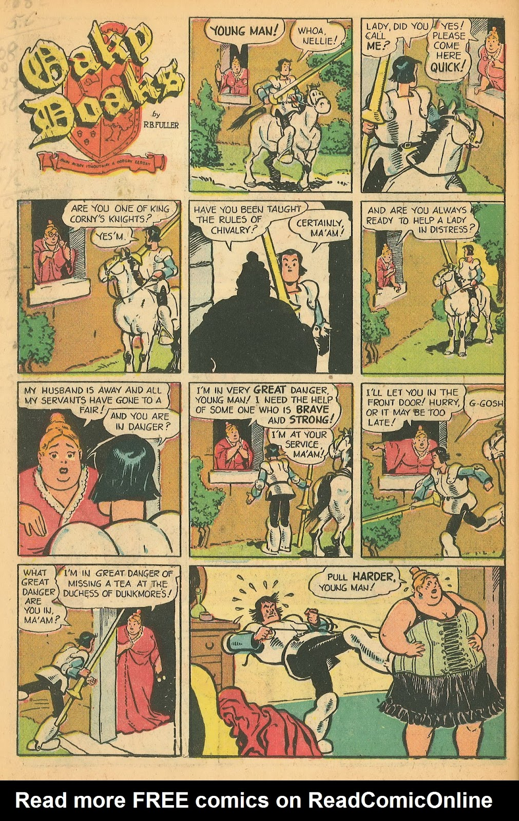 Read online Famous Funnies comic -  Issue #199 - 26