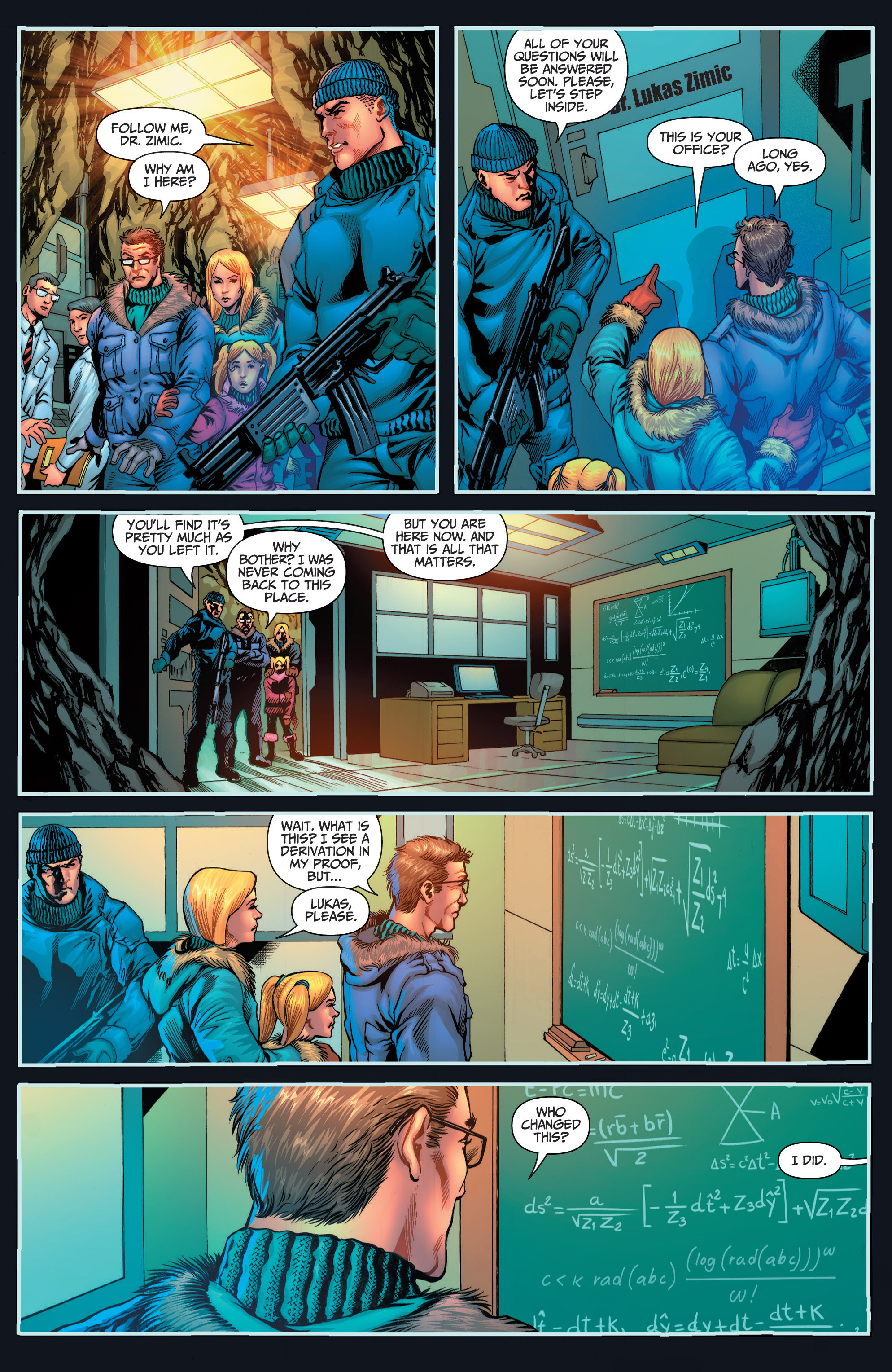 Read online Grimm Fairy Tales presents Red Agent: The Human Order comic -  Issue #6 - 11