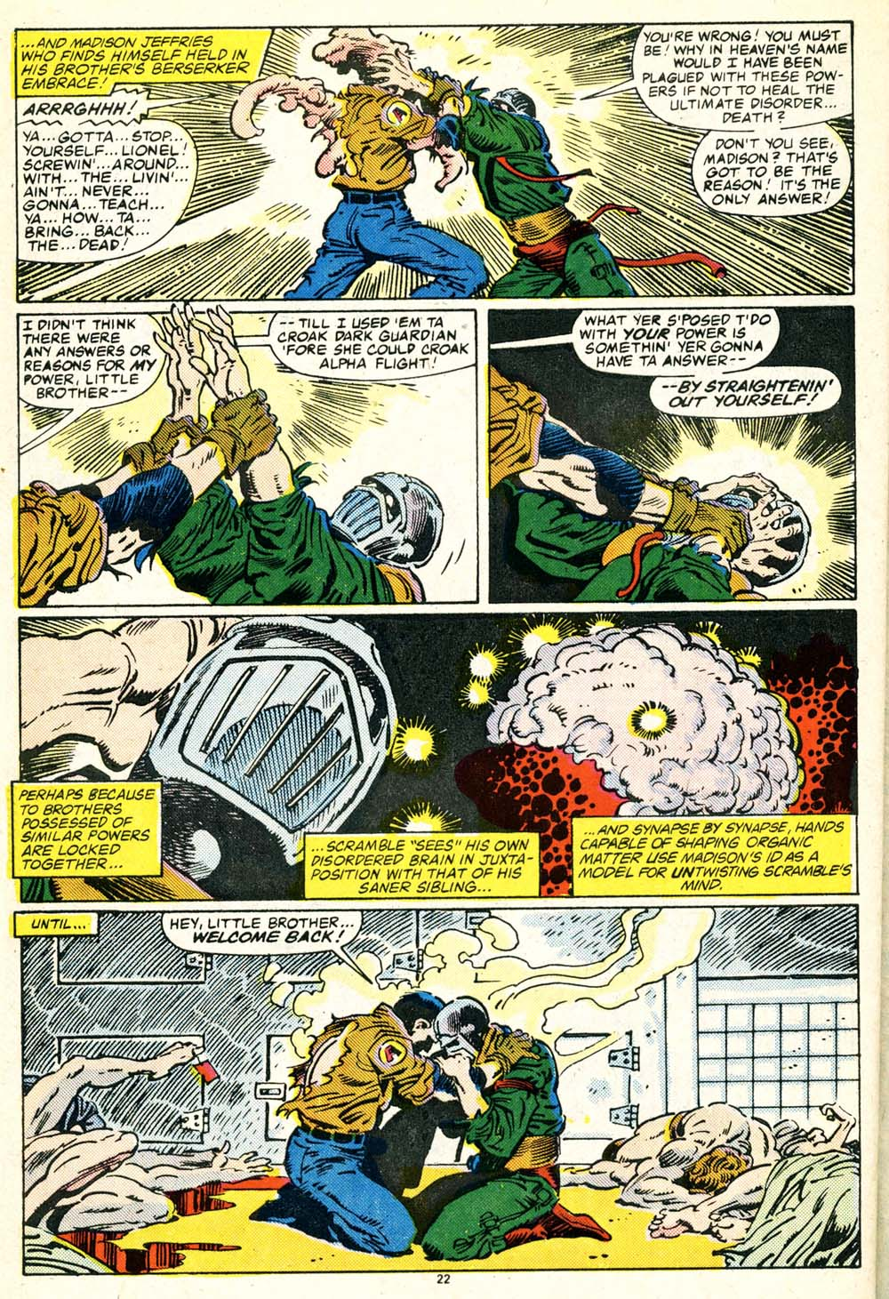 Read online Alpha Flight (1983) comic -  Issue #30 - 24
