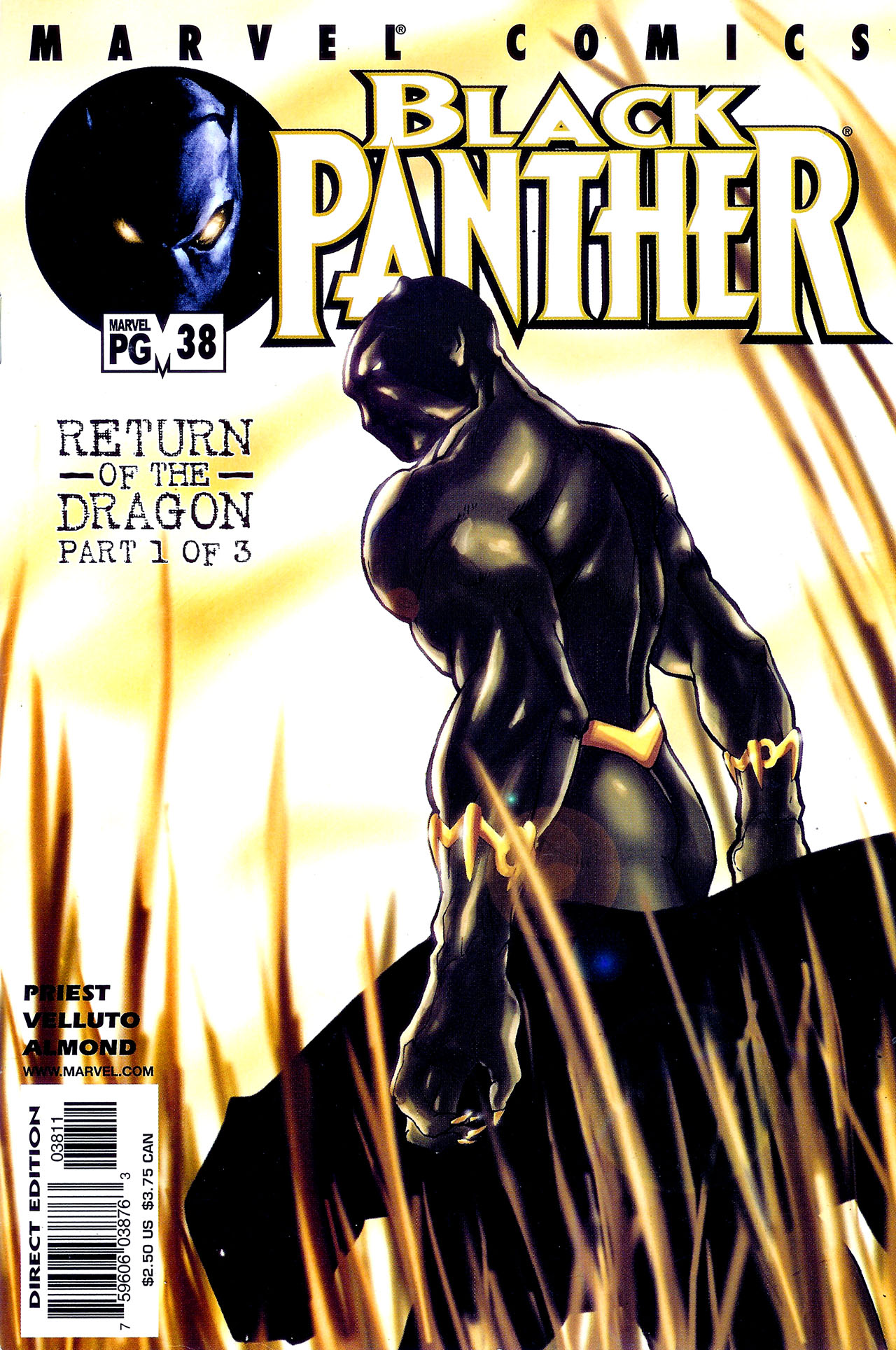 Black Panther (1998) 38 Page 1