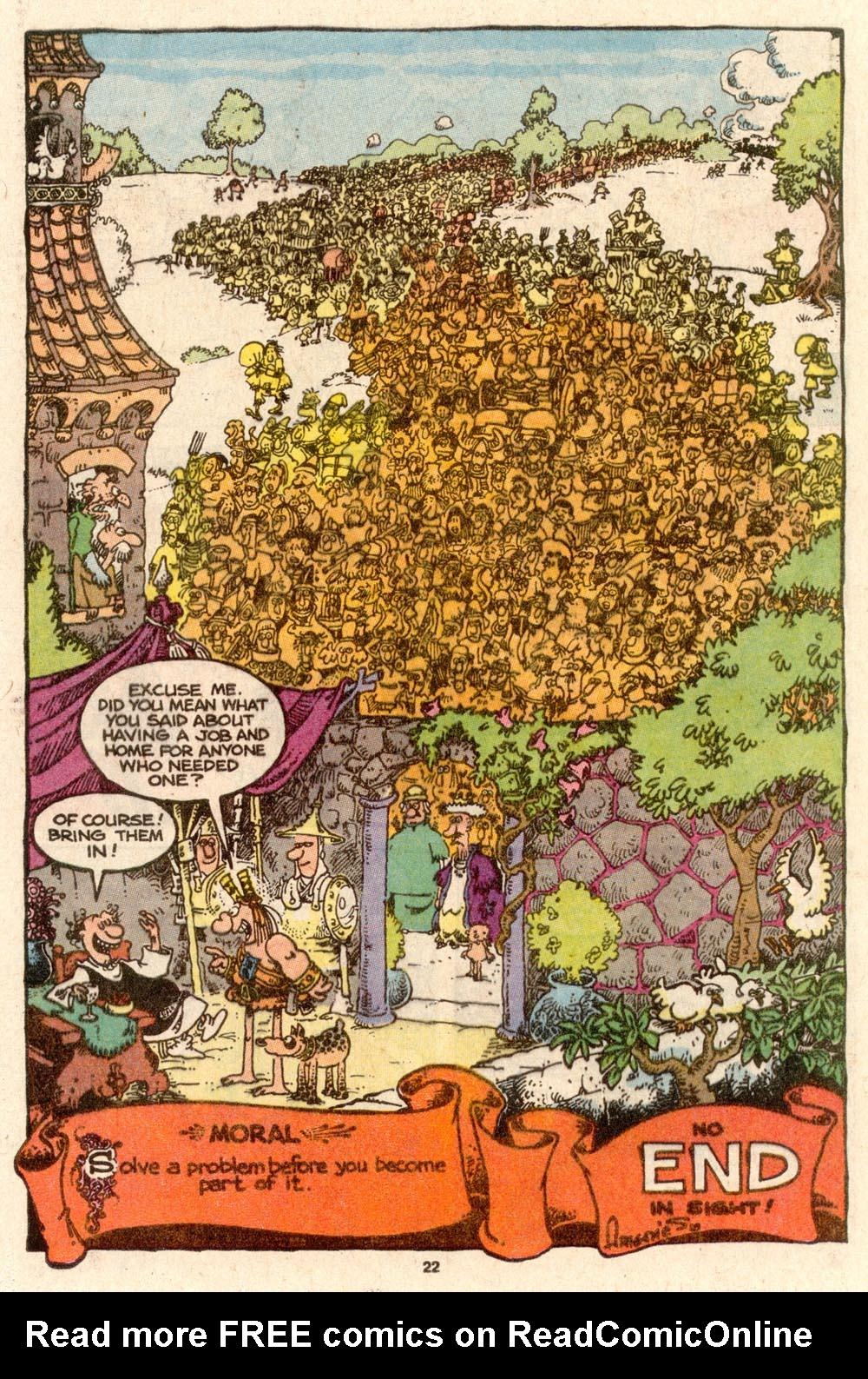 Read online Sergio Aragonés Groo the Wanderer comic -  Issue #60 - 24