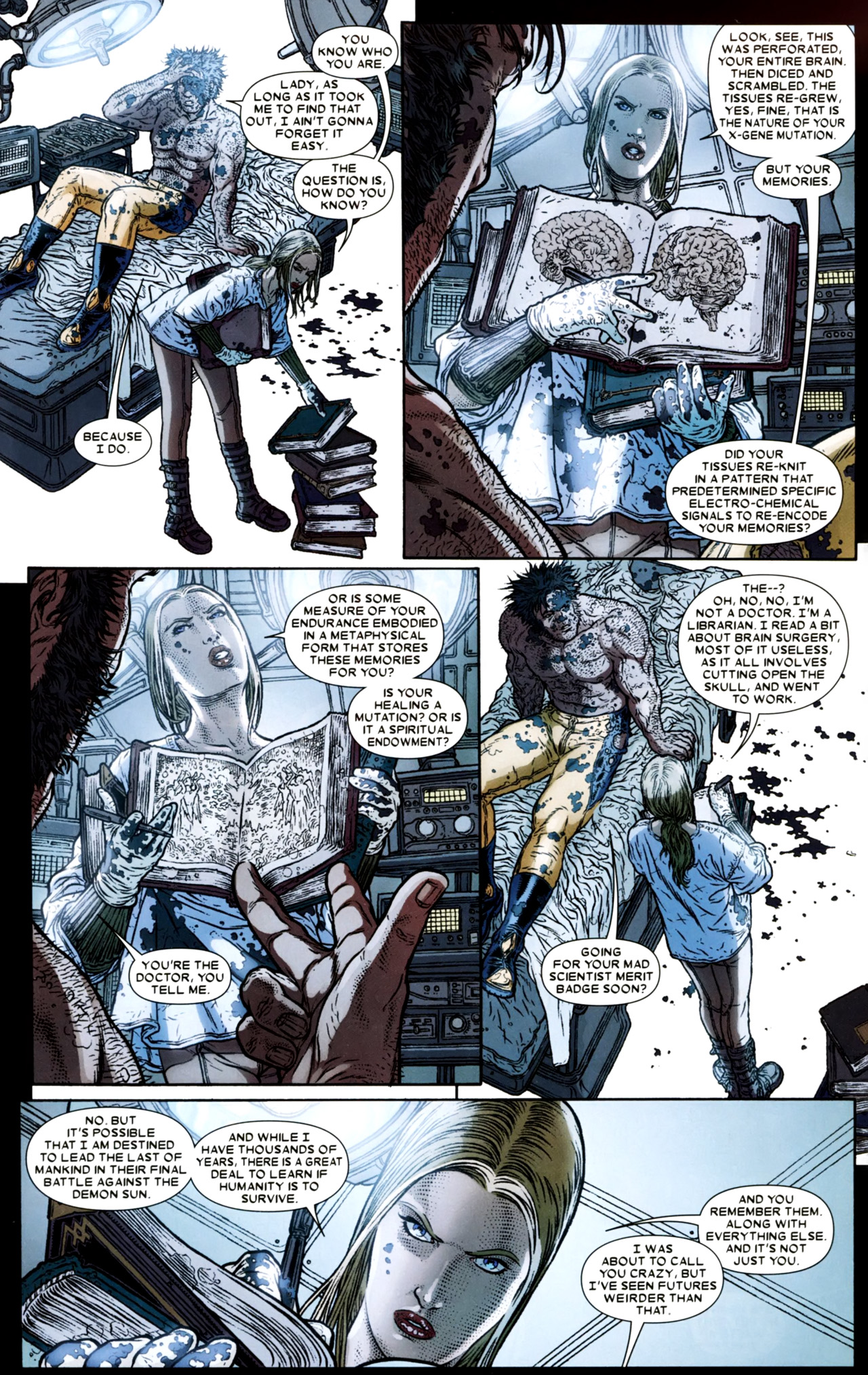 Read online Wolverine: The Best There Is comic -  Issue #4 - 4