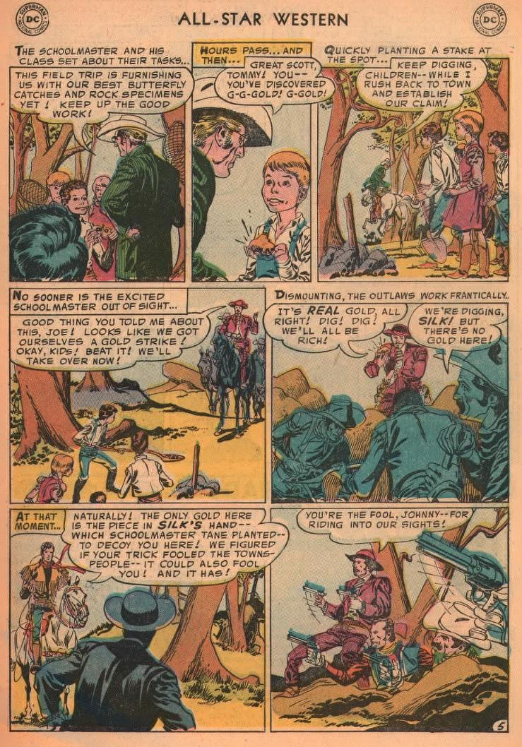 Read online All-Star Western (1951) comic -  Issue #87 - 7
