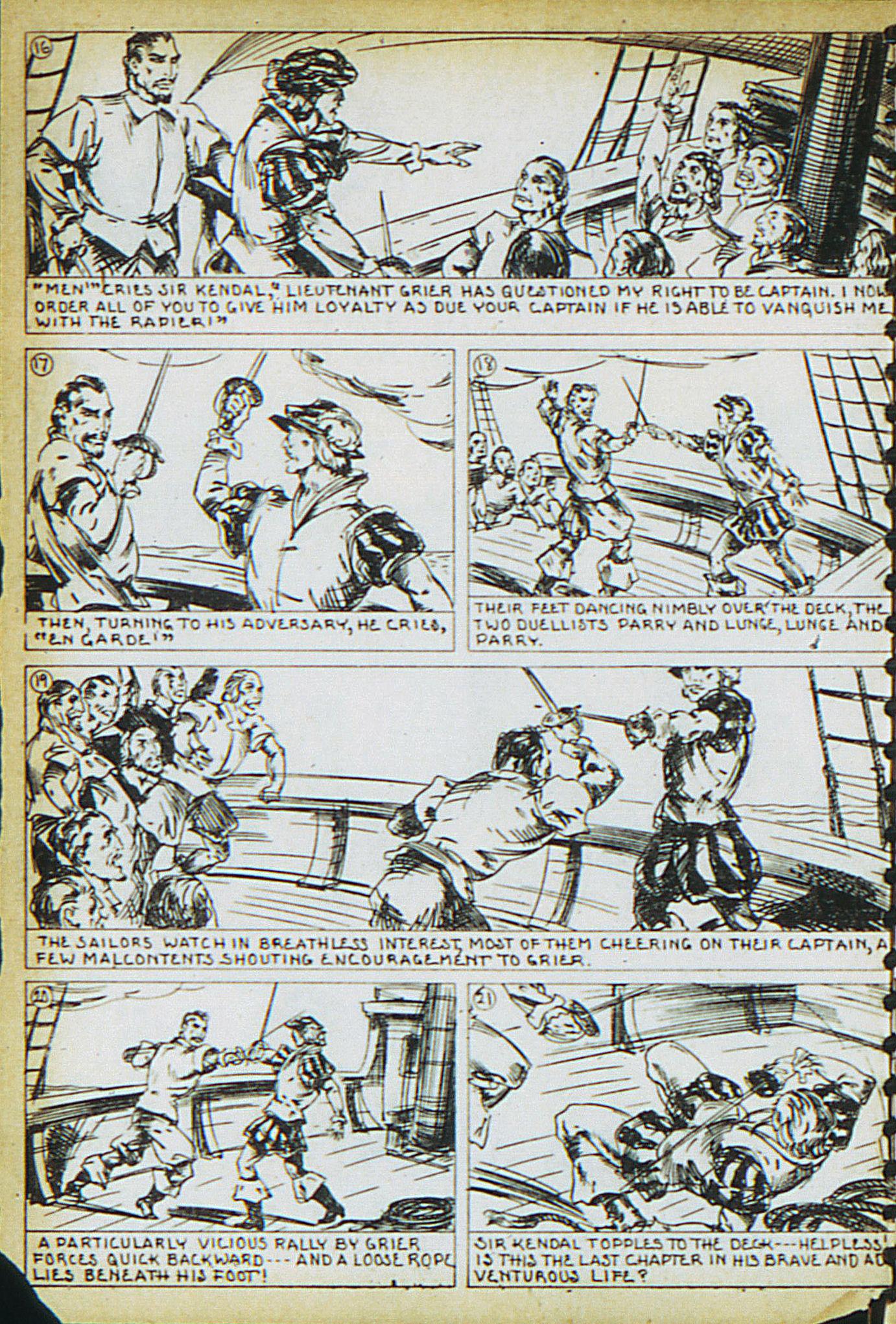 Read online Adventure Comics (1938) comic -  Issue #15 - 24