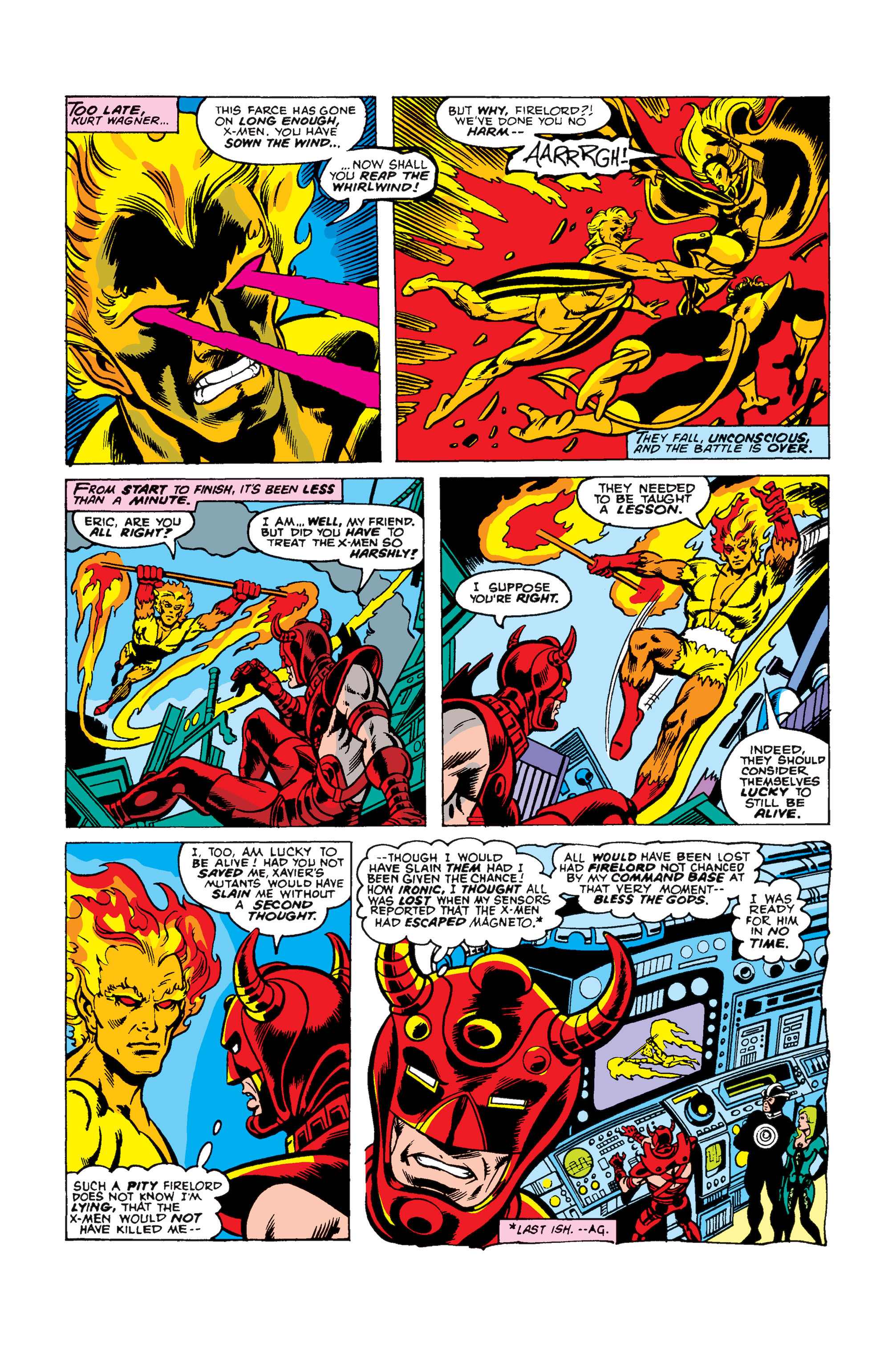 Read online Uncanny X-Men (1963) comic -  Issue #105 - 5